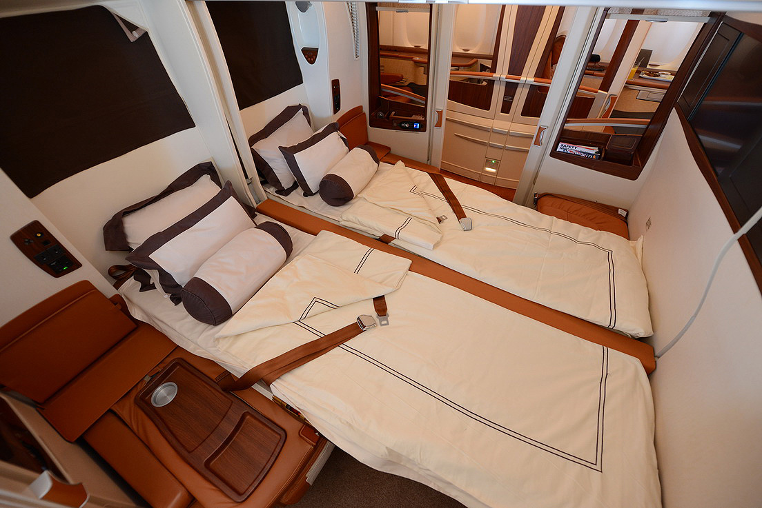 Singapore Suites on the Airbus A380