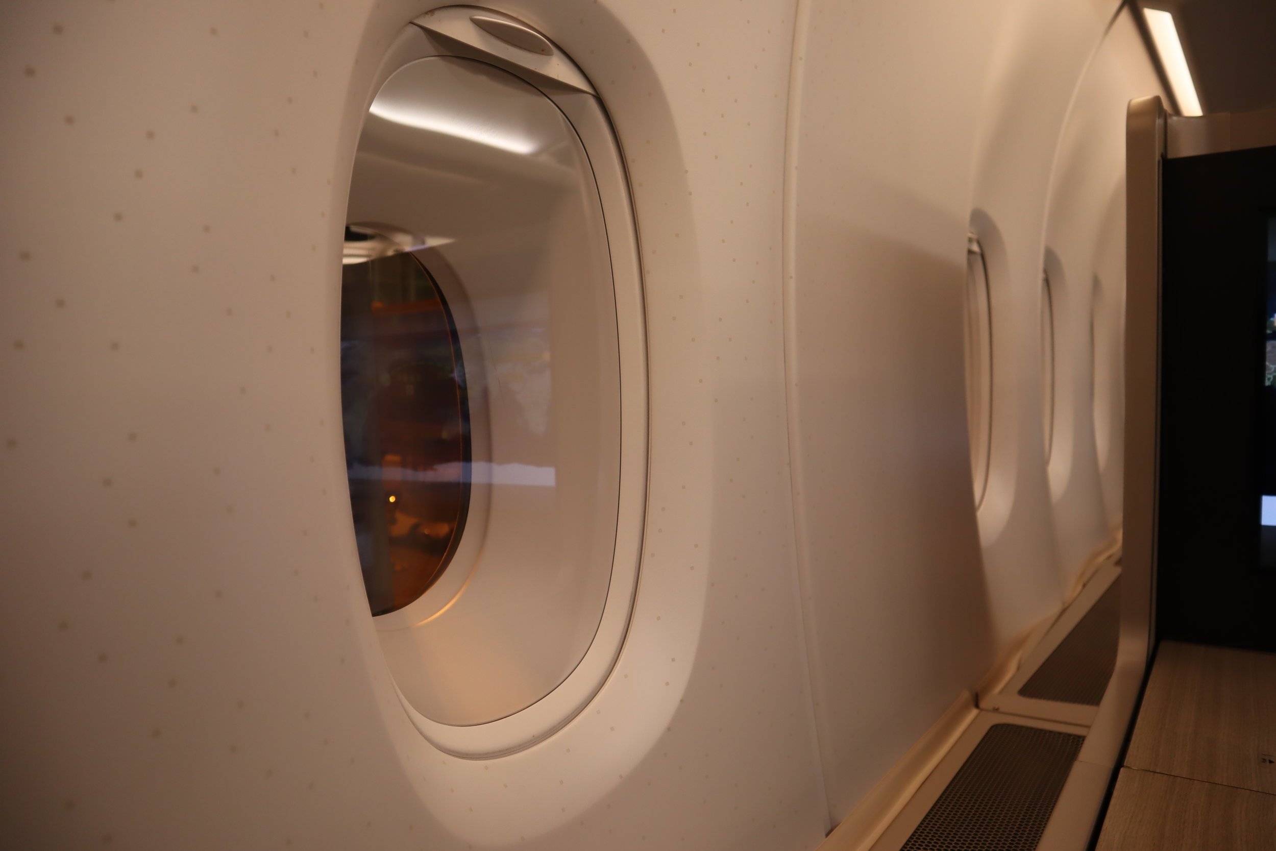 Asiana Airlines First Class – Airbus A380 additional space