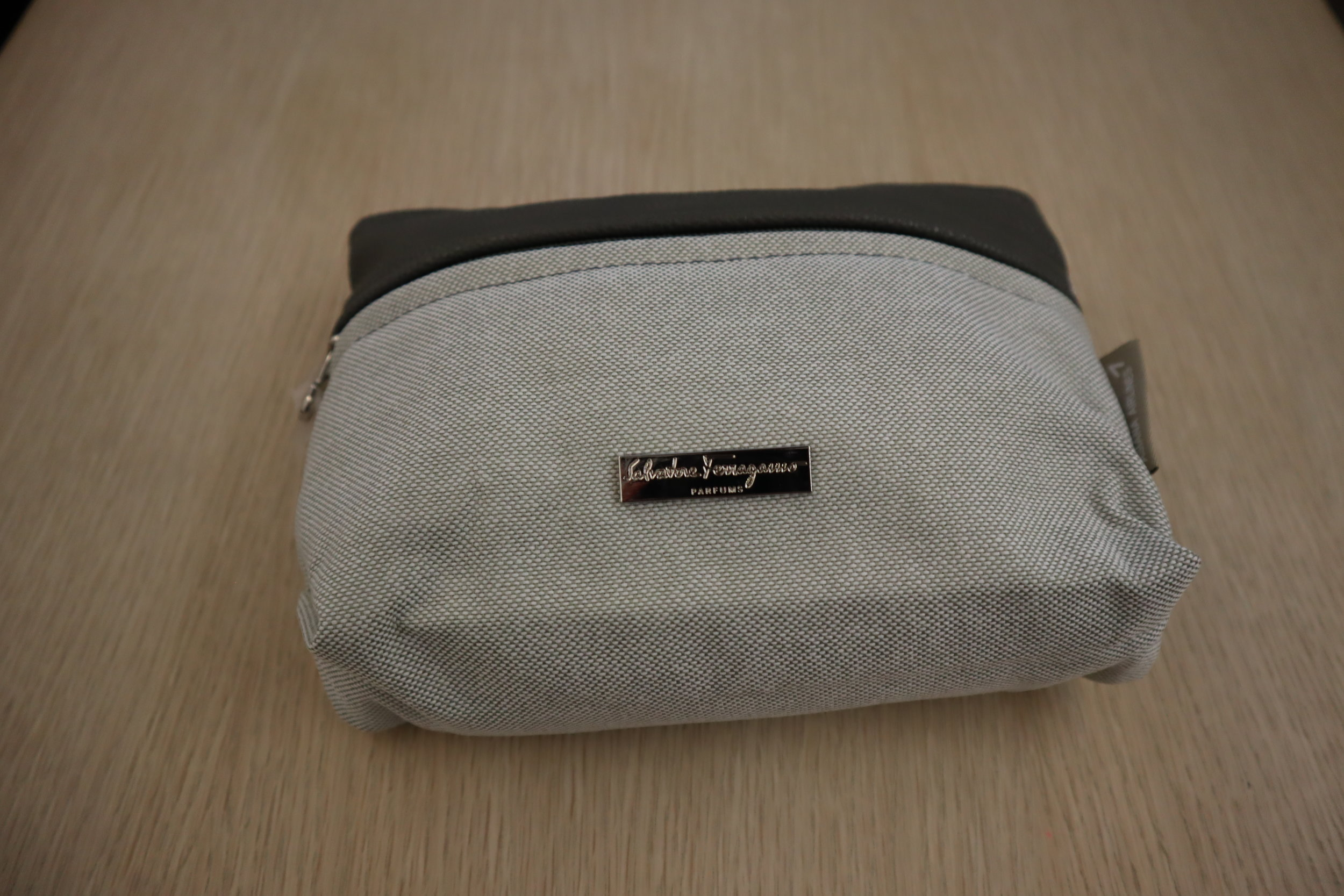 Asiana Airlines First Class – Salvatore Ferragamo amenity kit