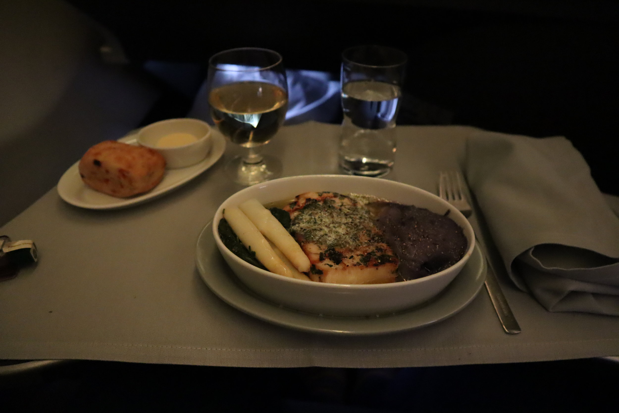 SAS business class – Main course