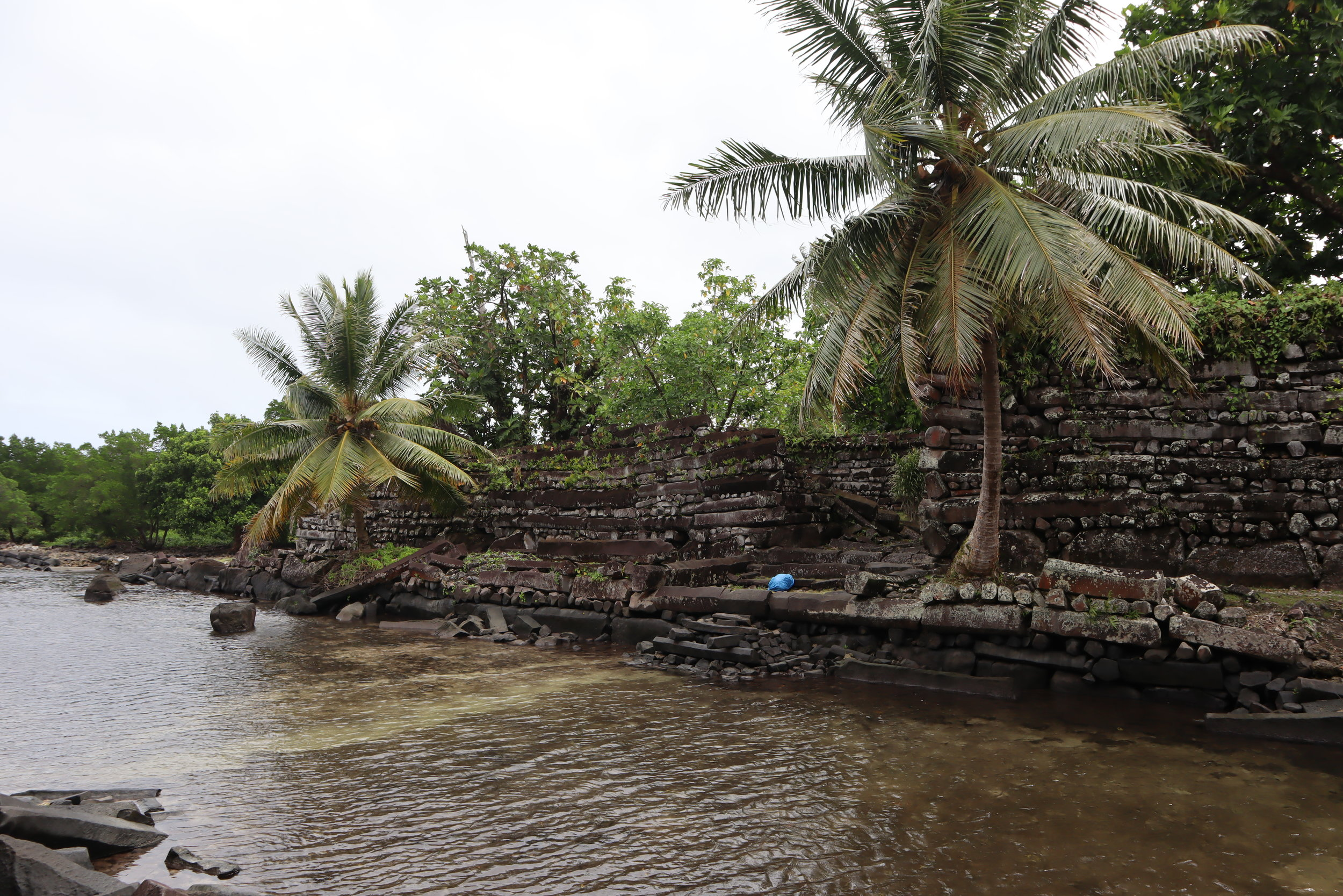 The ancient ruins of Nan Madol, Pohnpei