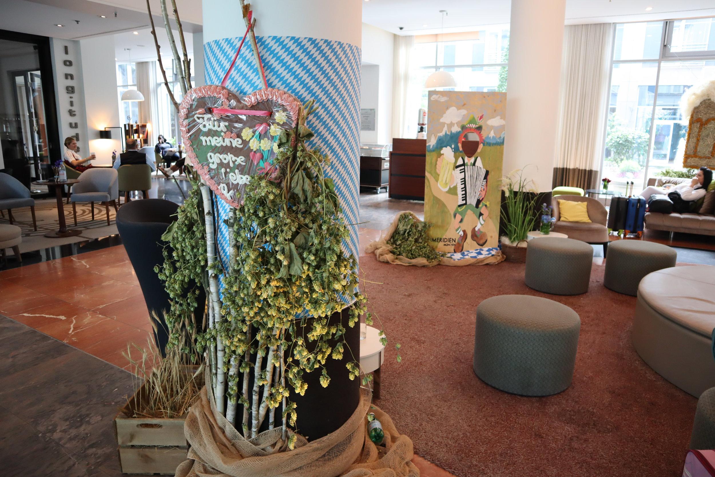 Le Méridien Munich – Lobby lounge