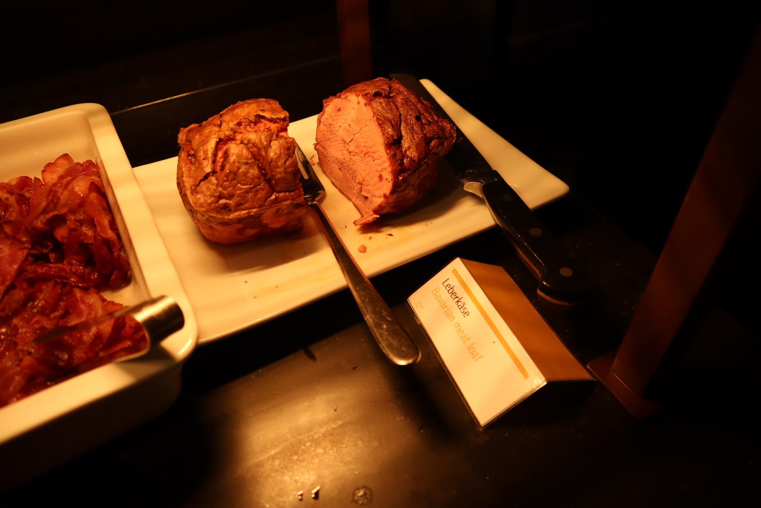 Le Méridien Munich – Bavarian meat loaf