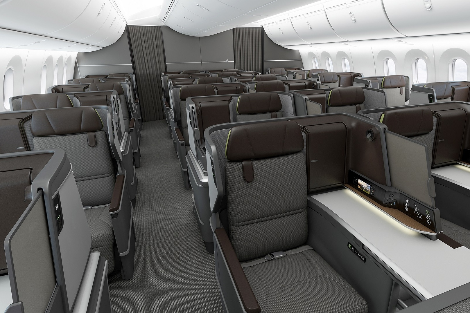 EVA Air new 787 business class