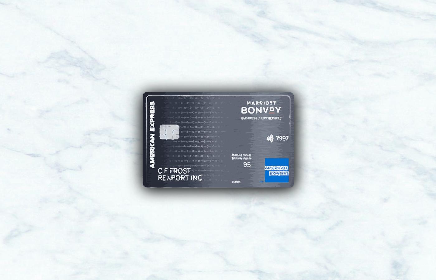American Express Marriott Bonvoy Business Card | Credit Card