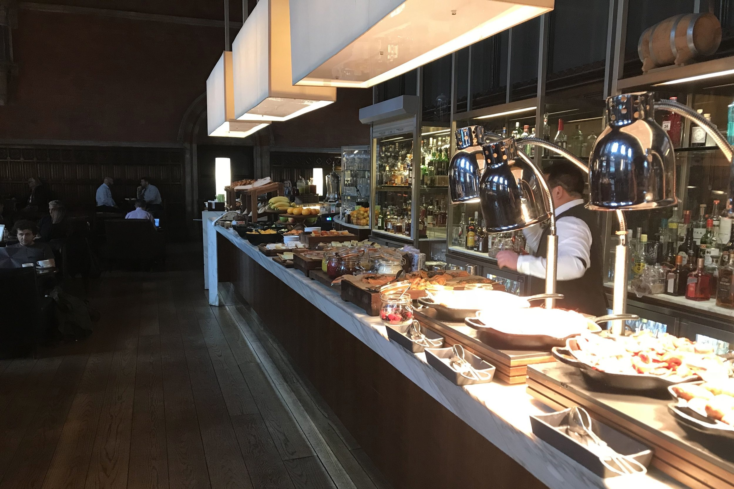 St. Pancras Renaissance Hotel London – Booking Office breakfast buffet