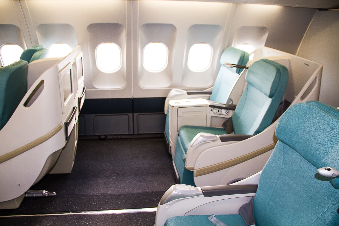 CSA Czech Airlines business class