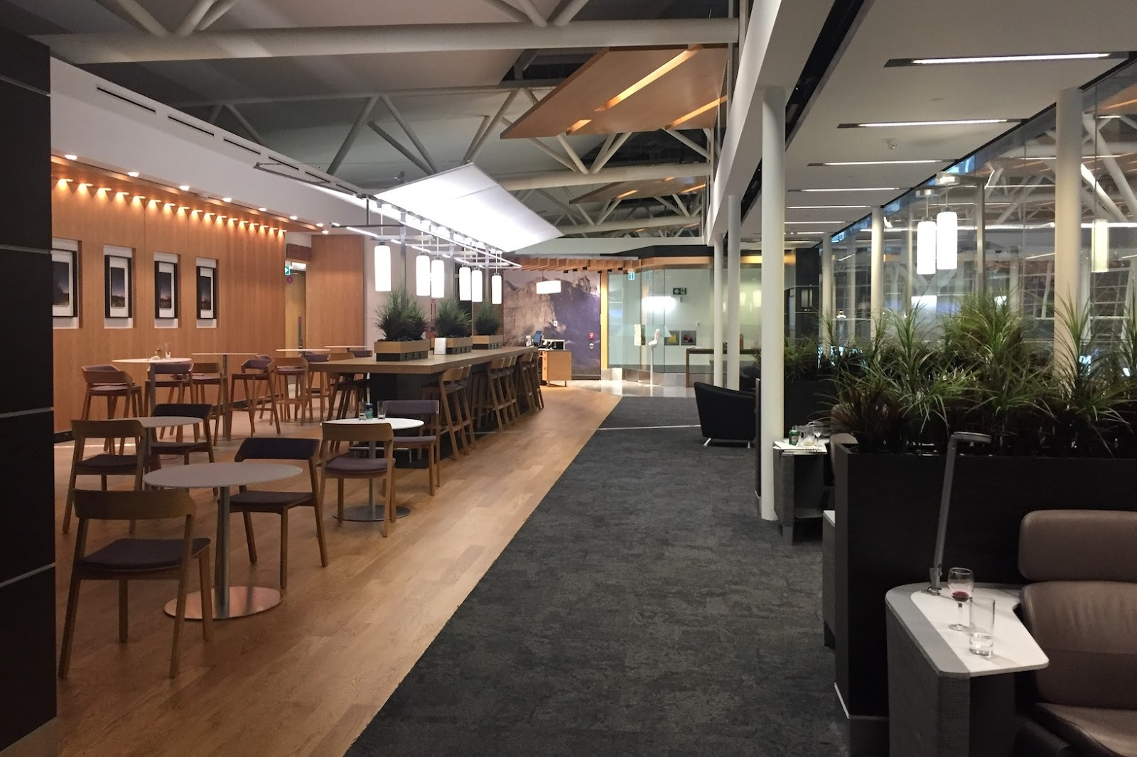 Aspire Lounge Calgary, by Swissport