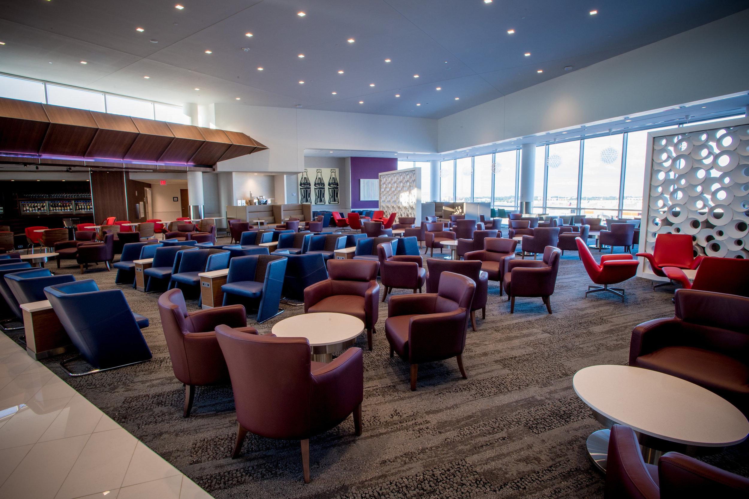 Delta Sky Club Atlanta (Concourse B)