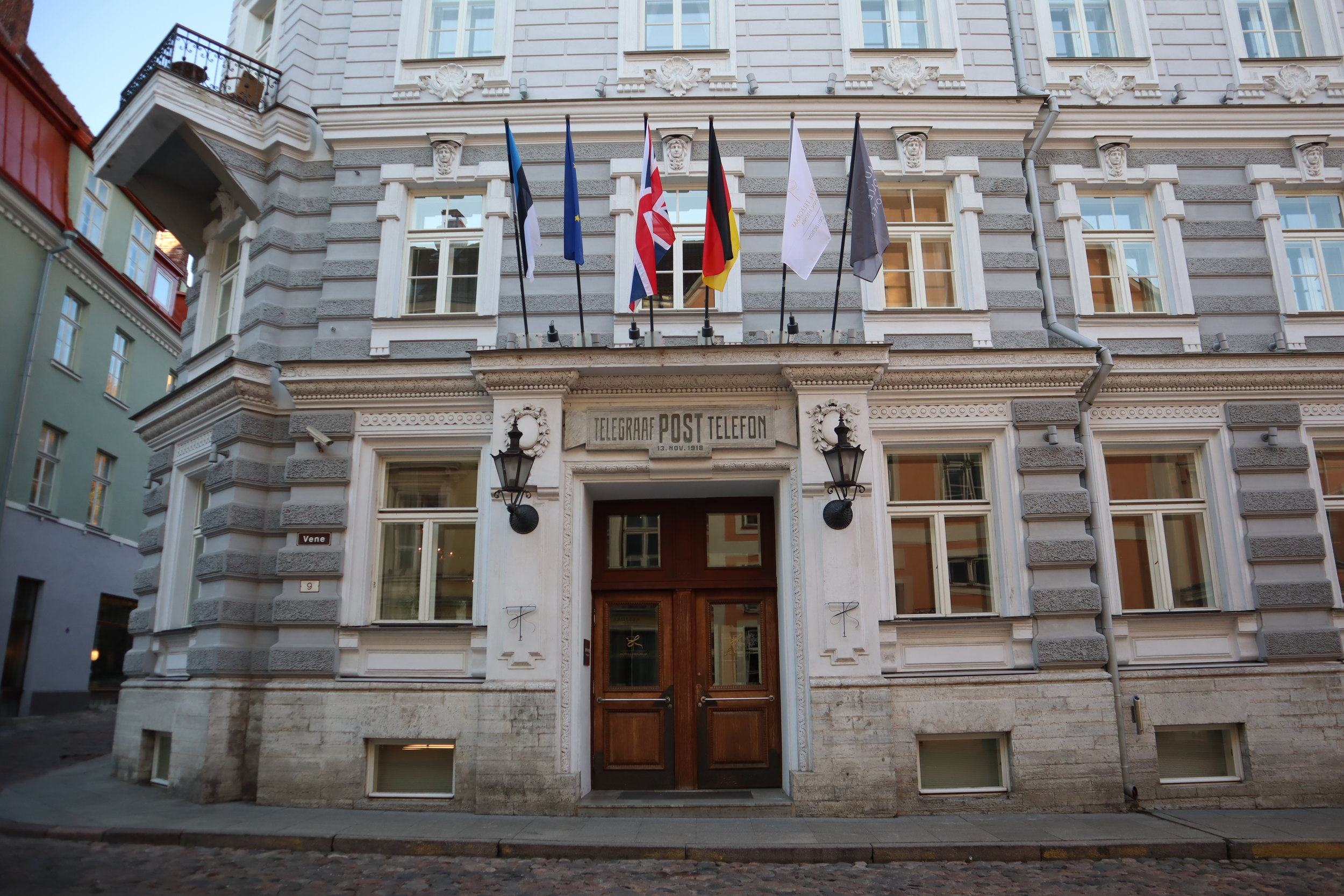 Hotel Telegraaf Tallinn – Exterior