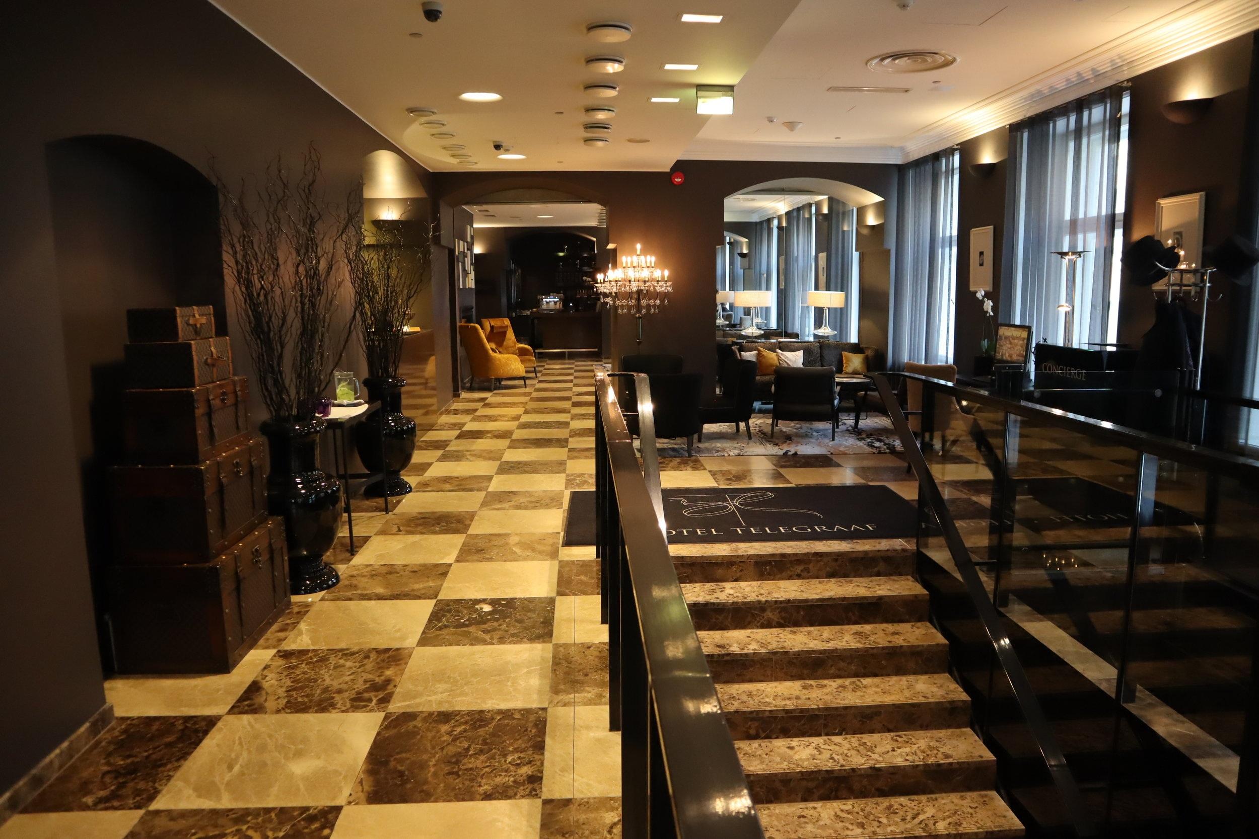Hotel Telegraaf Tallinn – Lobby