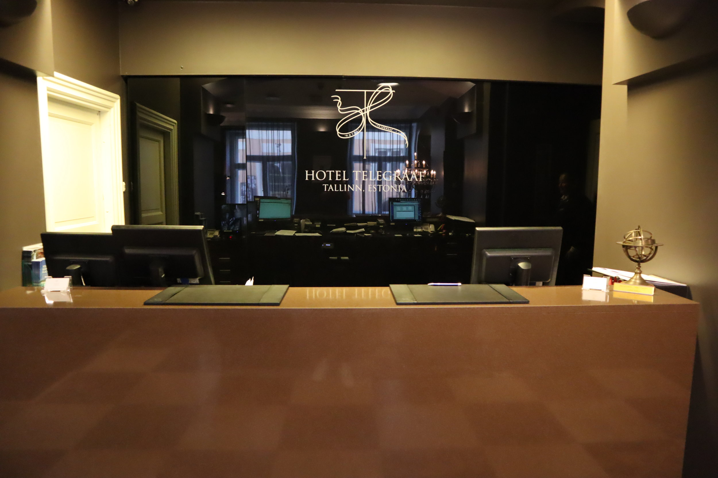 Hotel Telegraaf Tallinn – Front desk