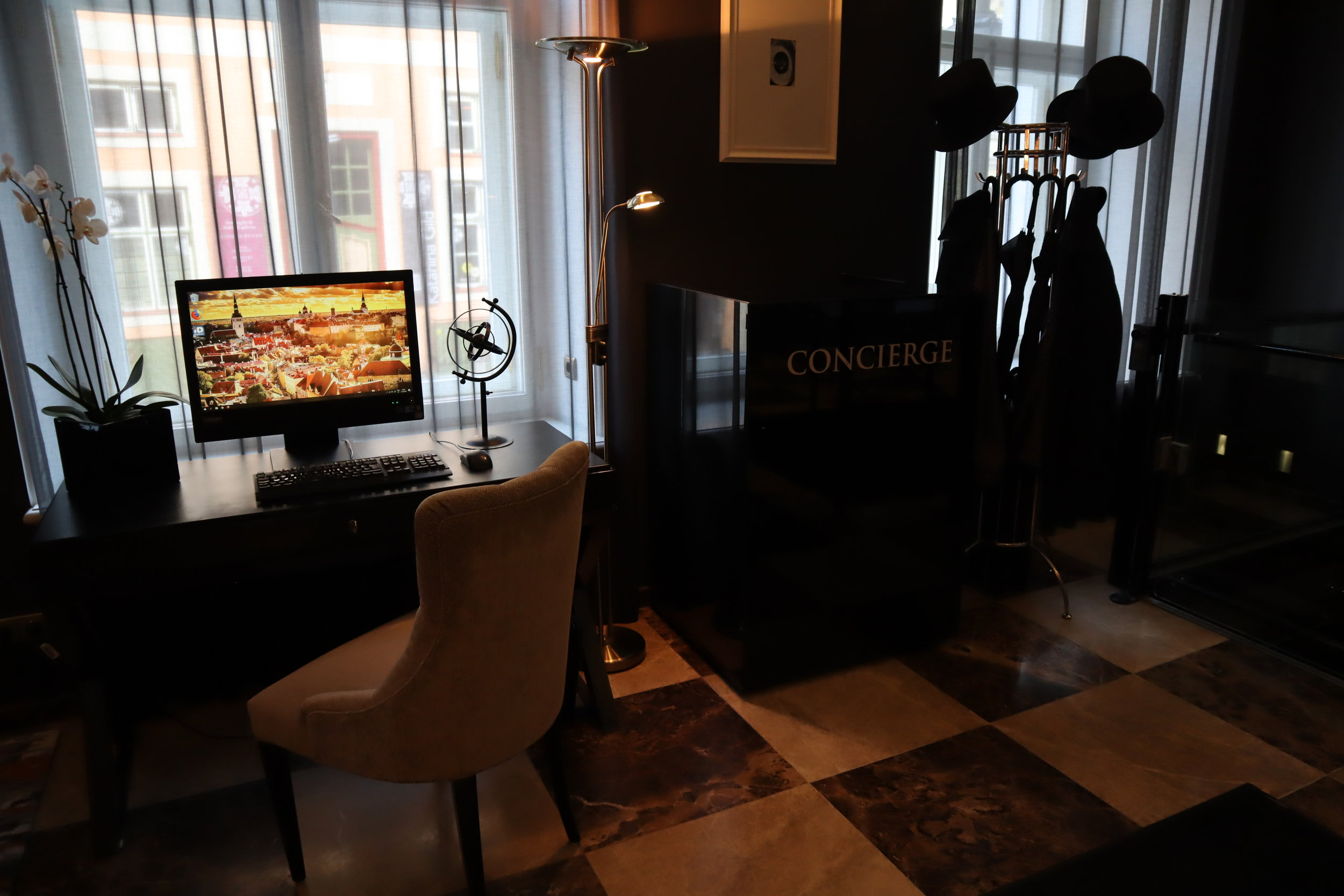 Hotel Telegraaf Tallinn – Concierge desk