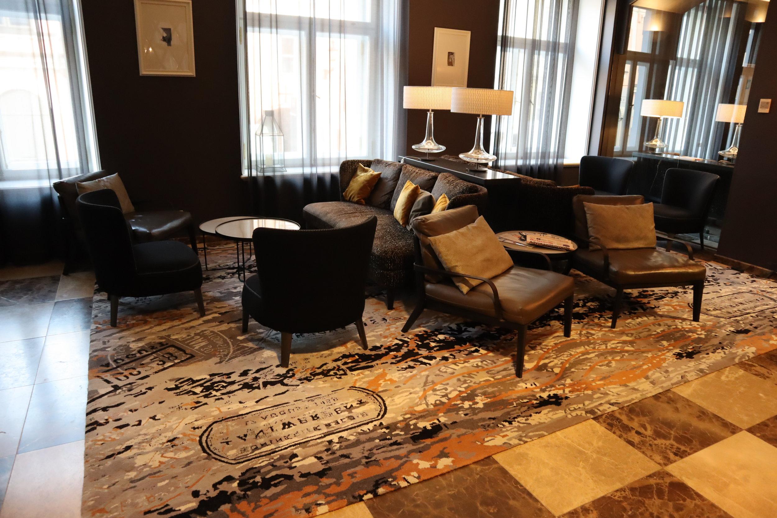 Hotel Telegraaf Tallinn – Lobby lounge
