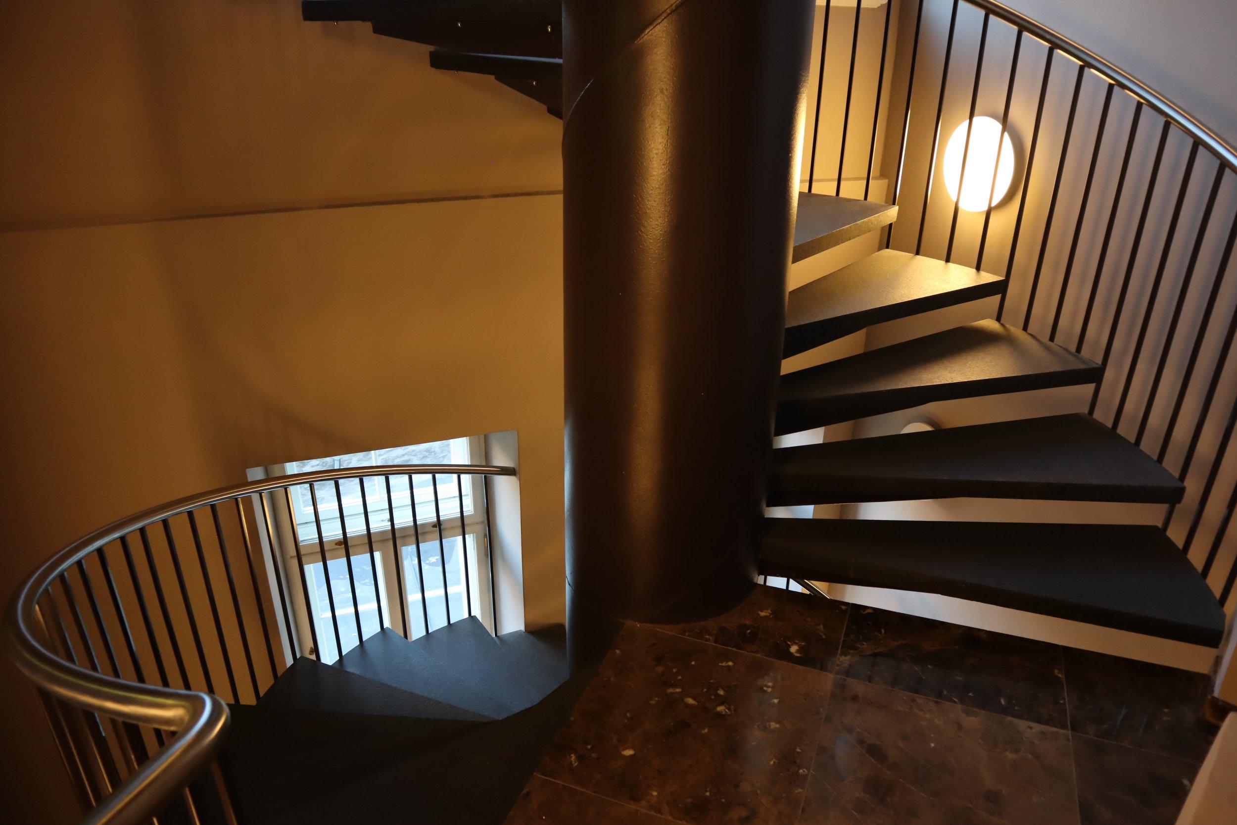 Hotel Telegraaf Tallinn – Spiral staircase