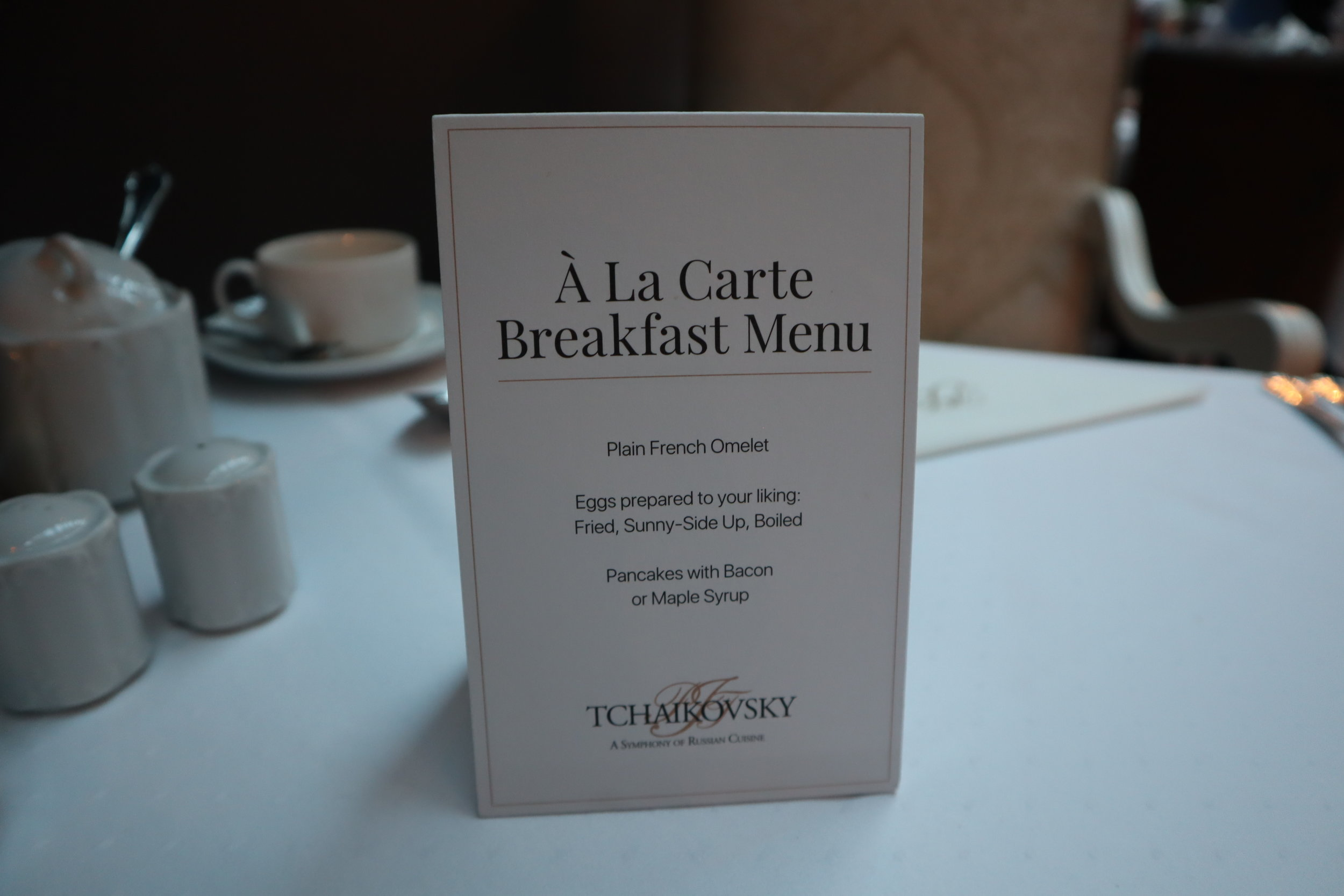 Hotel Telegraaf Tallinn – À la carte breakfast options