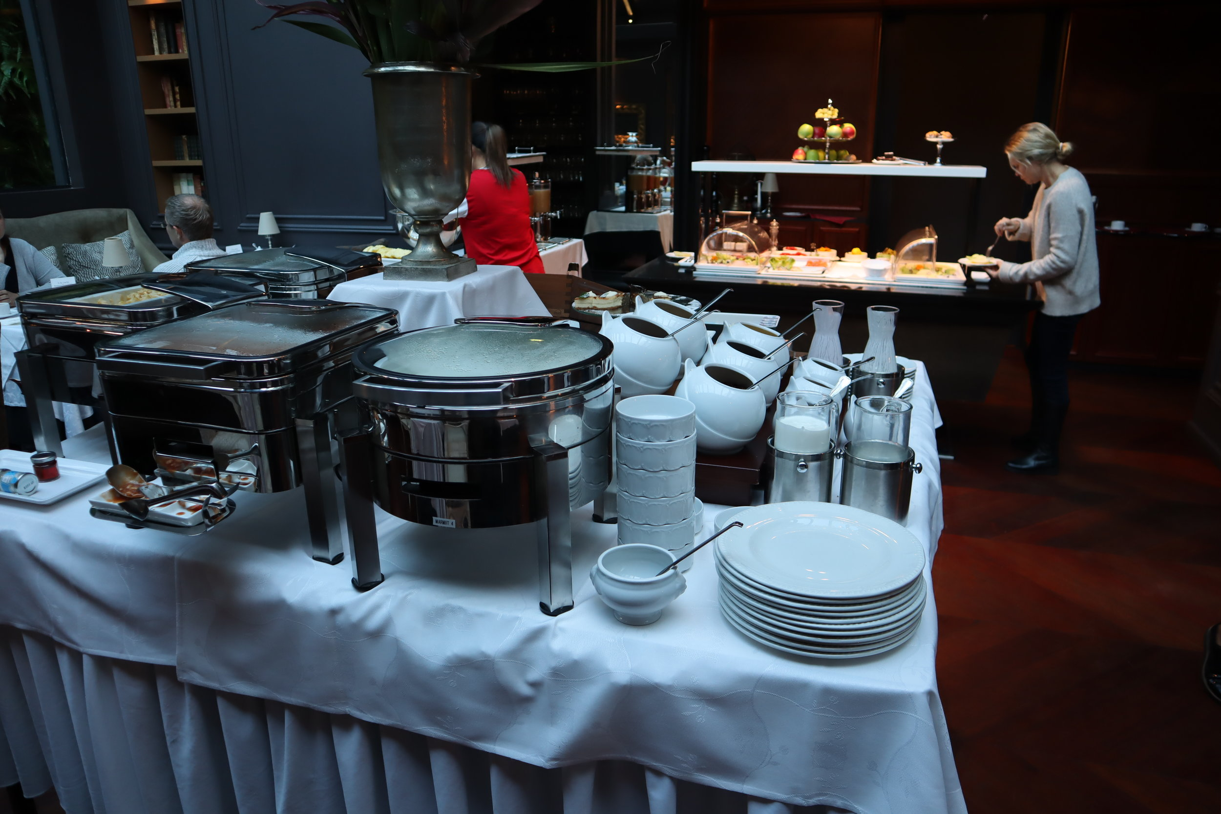 Hotel Telegraaf Tallinn – Breakfast buffet
