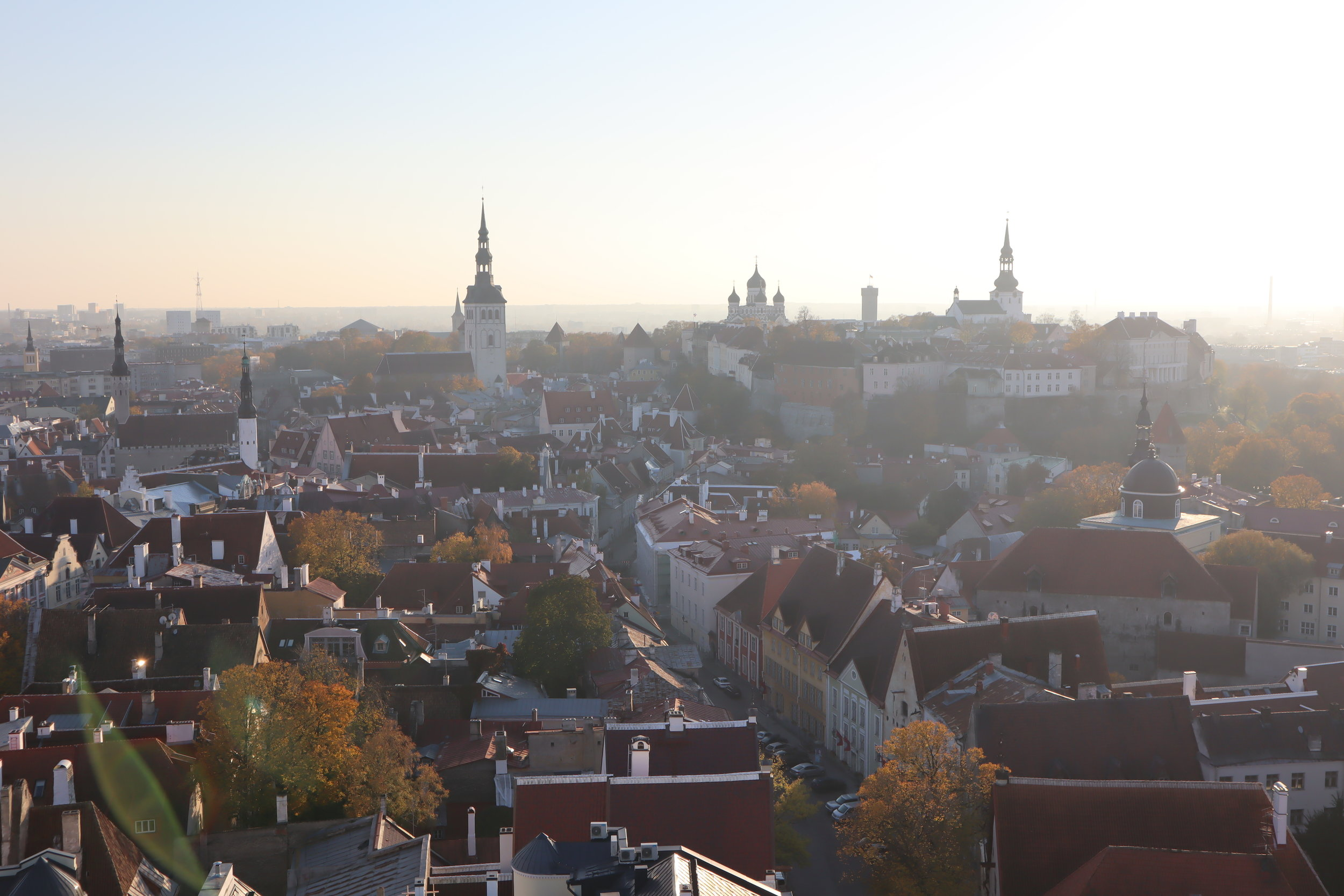 View from St. Olaf's Church