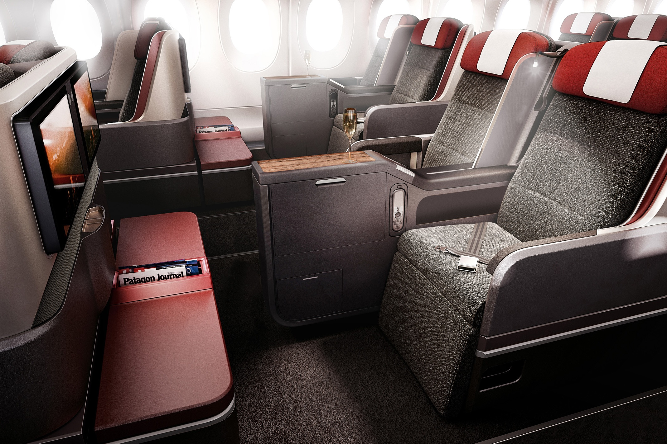 Fly LATAM business class from Australia to New Zealand