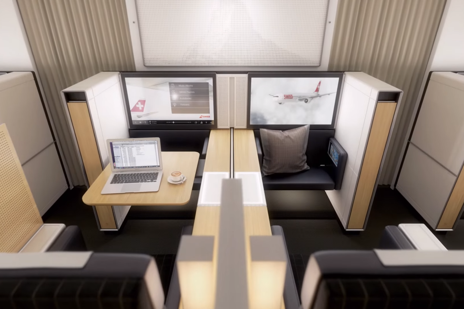 Swiss First Class on the Boeing 777