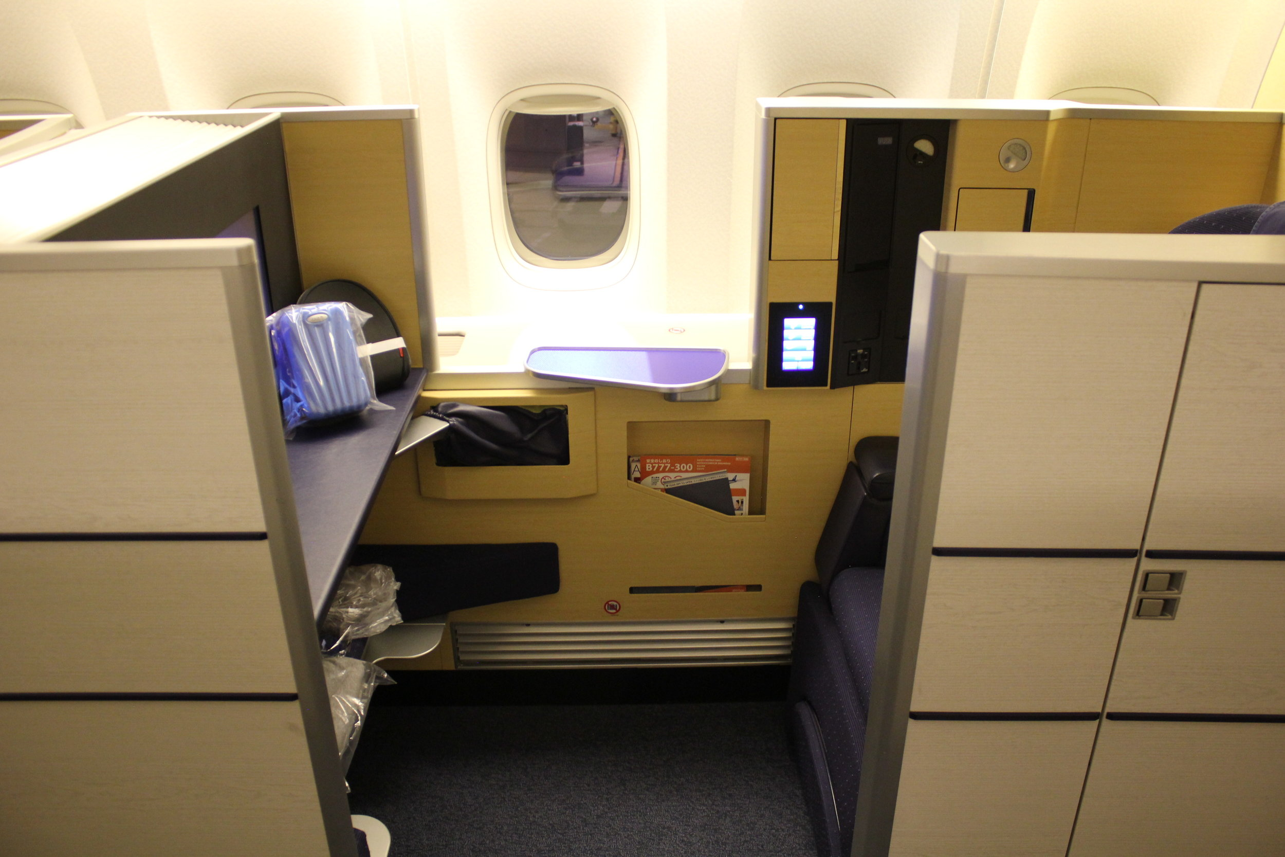 ANA First Class on the Boeing 777