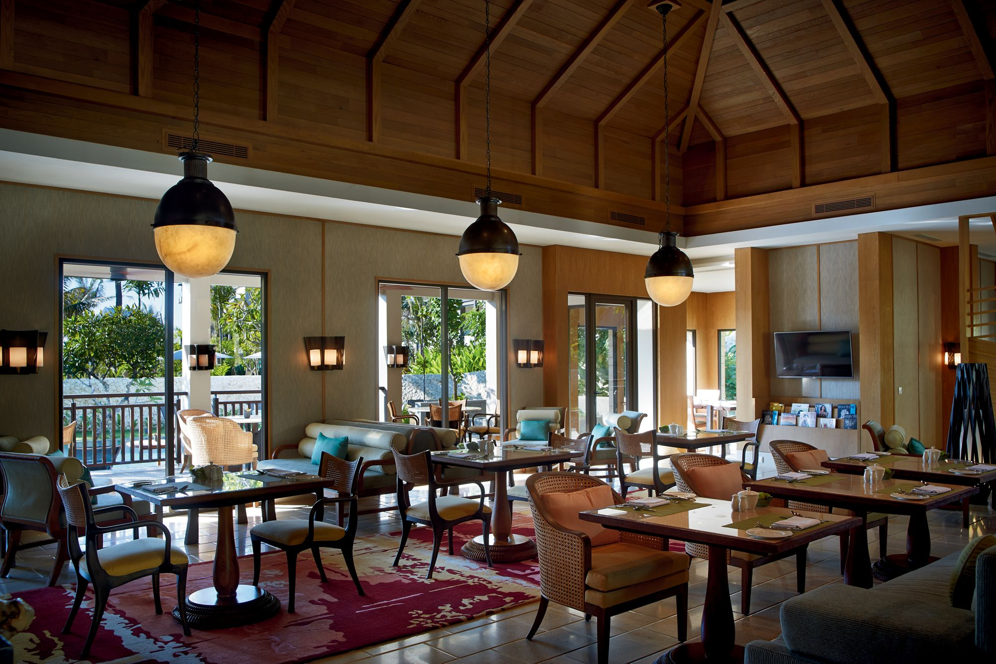 Club Lounge at  The Ritz-Carlton, Bali