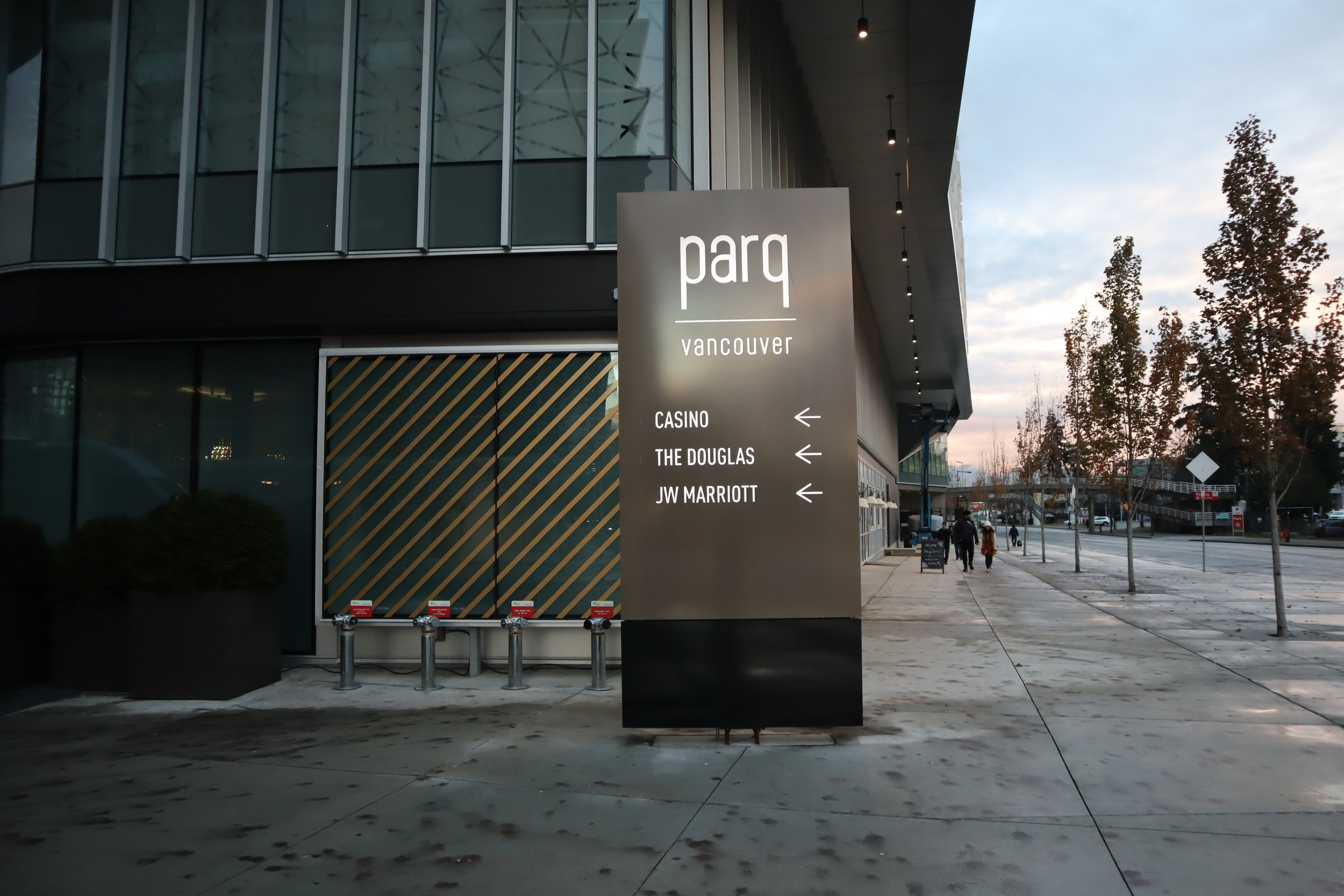 JW Marriott Parq Vancouver – Parq Vancouver sign