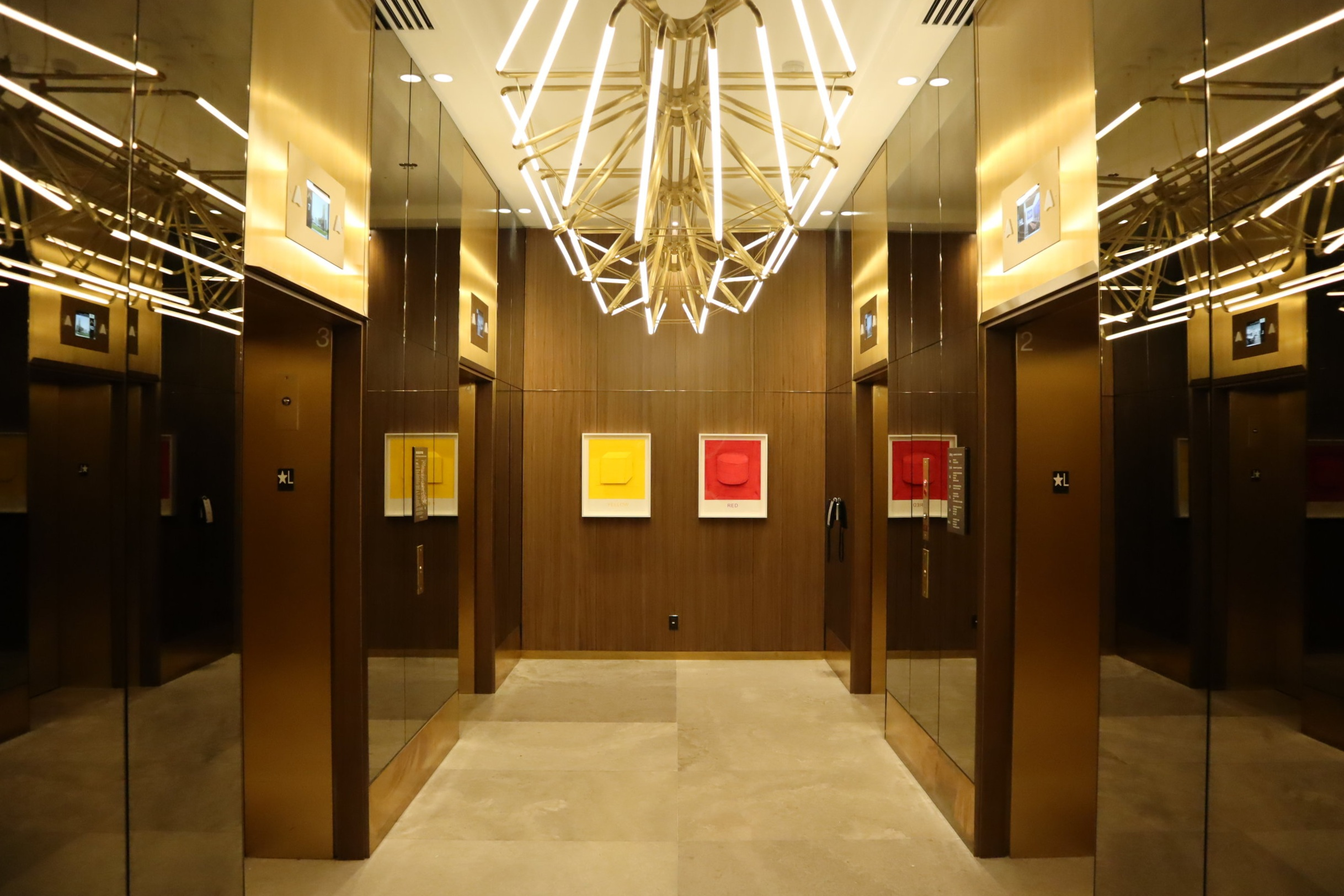 JW Marriott Parq Vancouver – Elevators