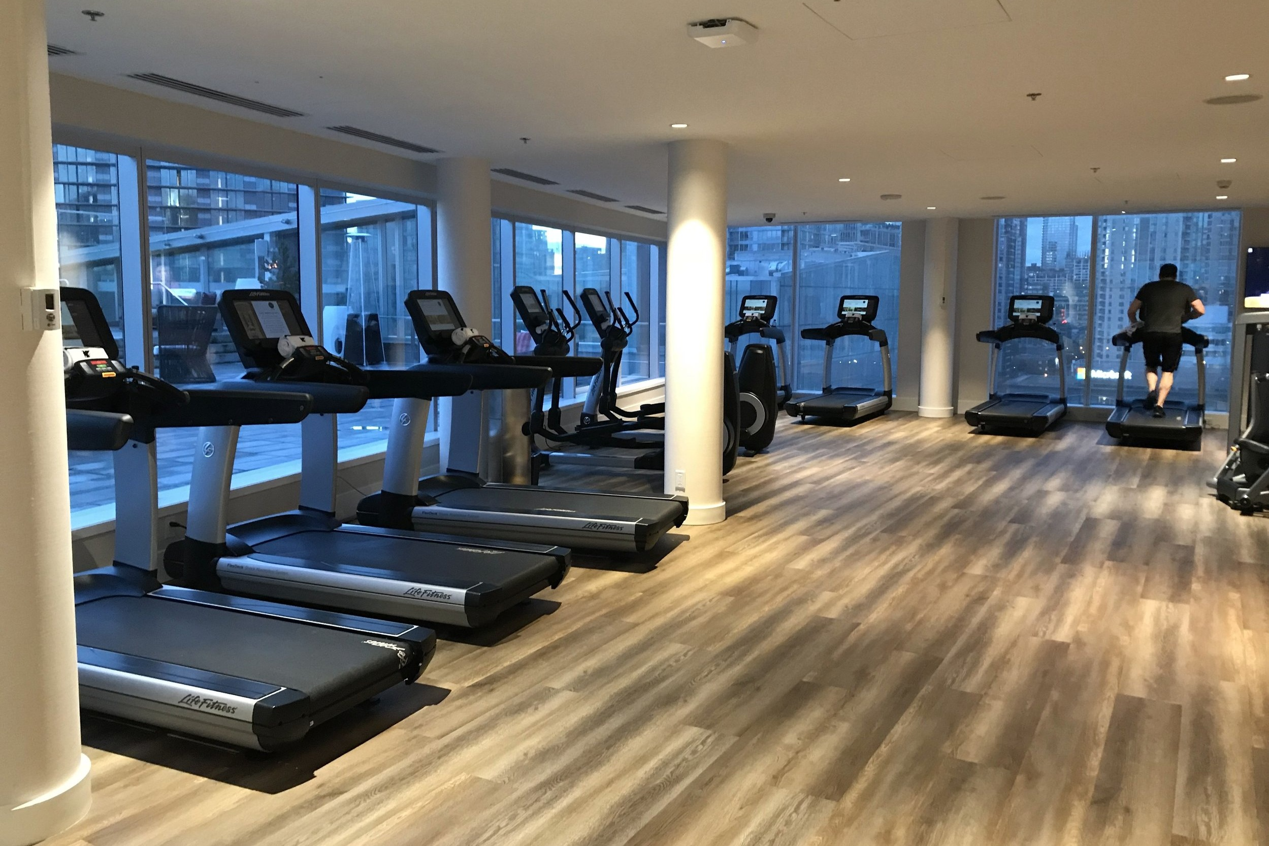 JW Marriott Parq Vancouver – Fitness centre