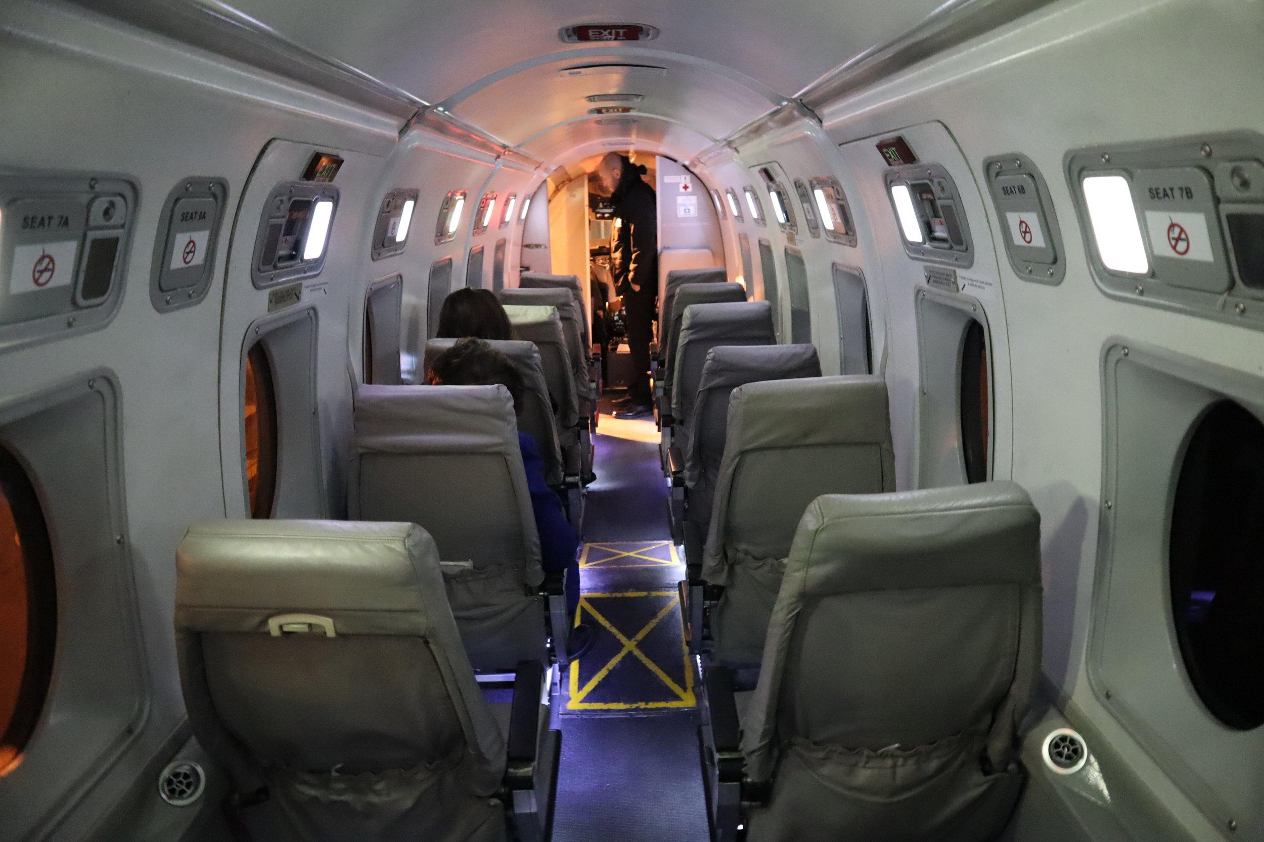 Air Canada Beechcraft 1900D – Cabin
