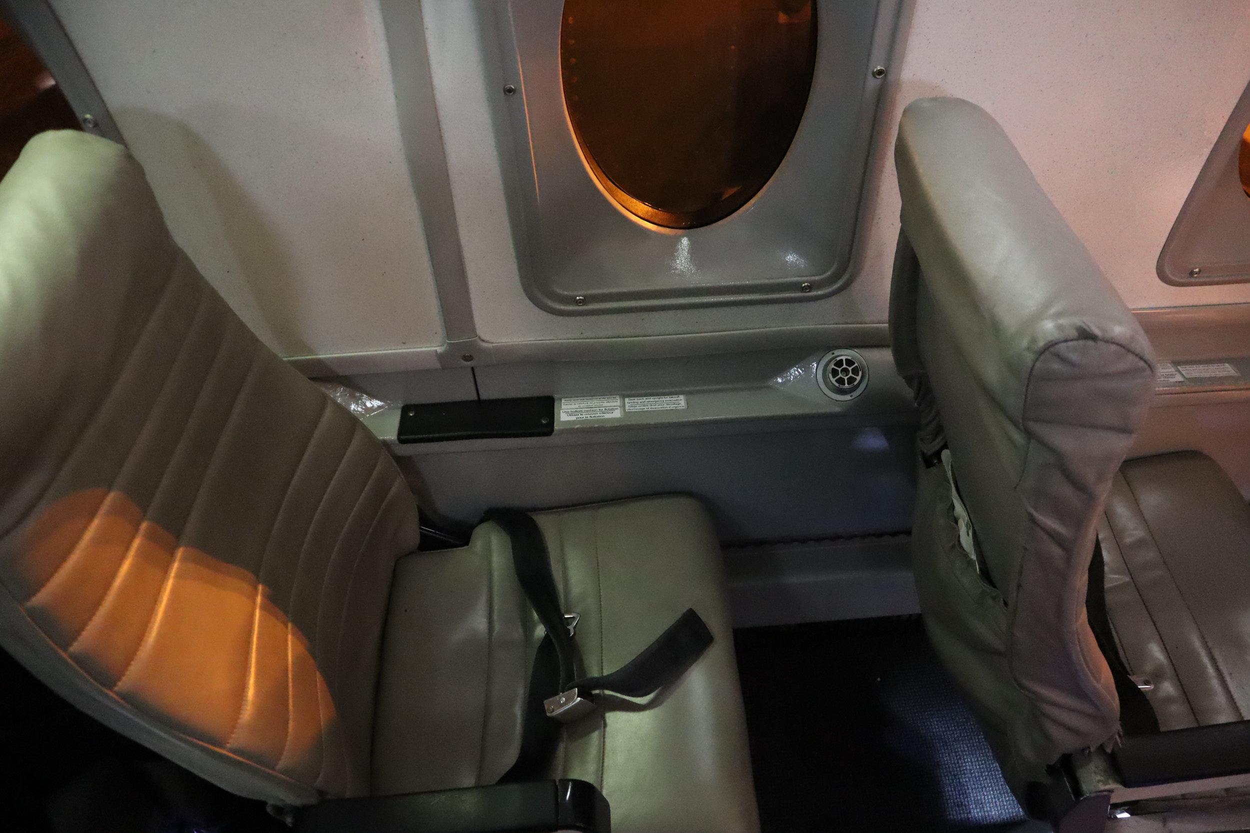 Air Canada Beechcraft 1900D – Seat 3A