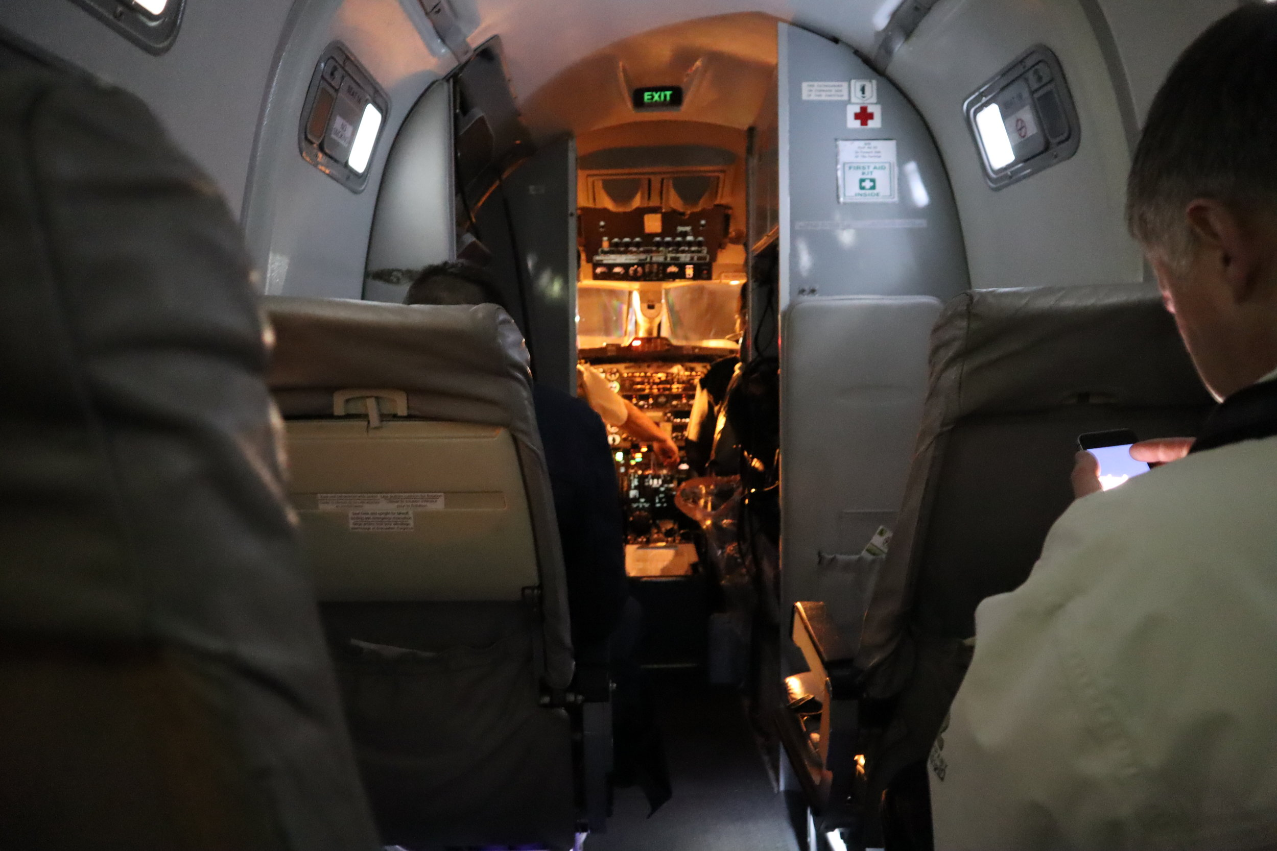 Air Canada Beechcraft 1900D – View from Seat 3A