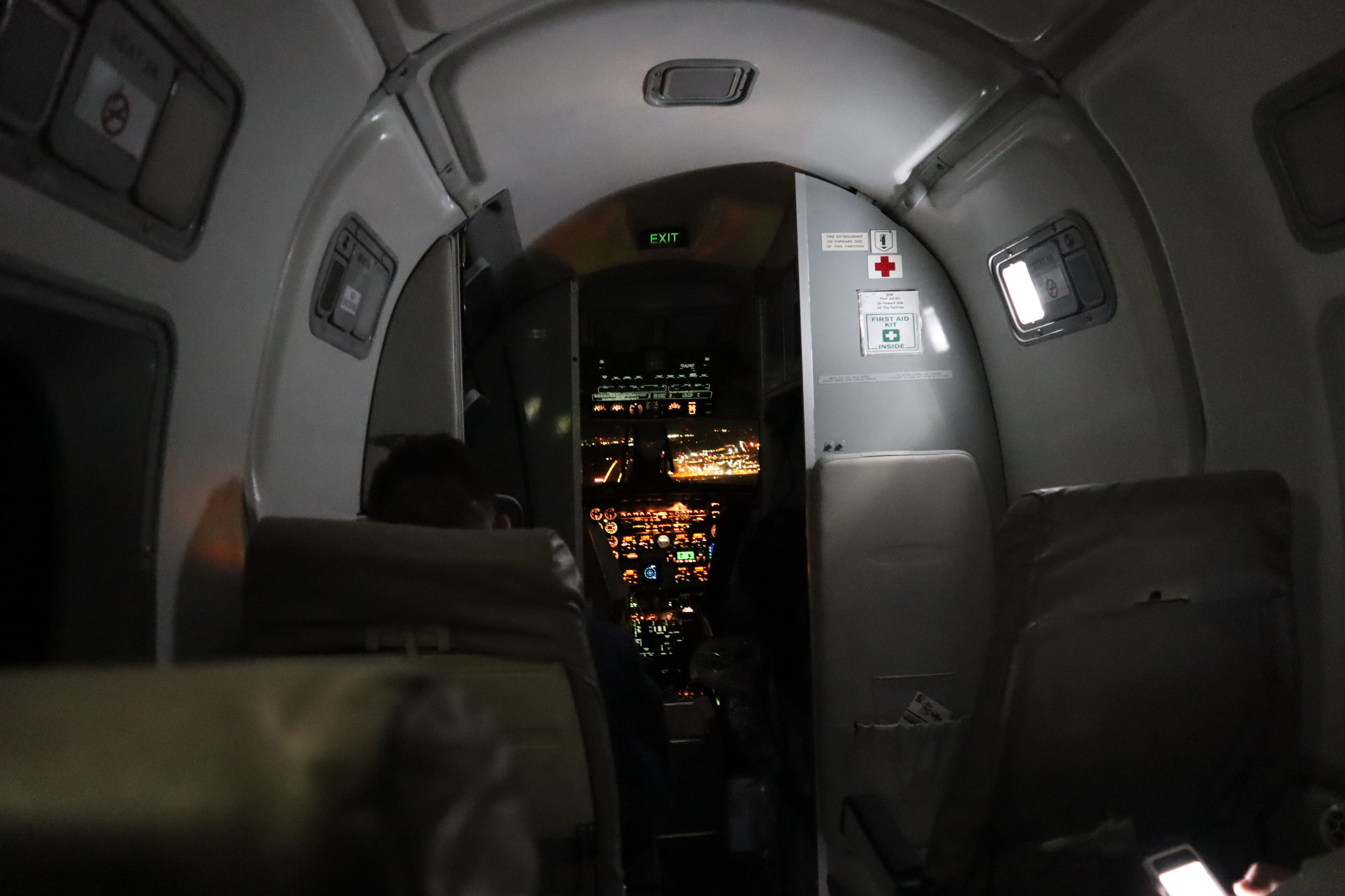 Air Canada Beechcraft 1900D – Approach to Halifax