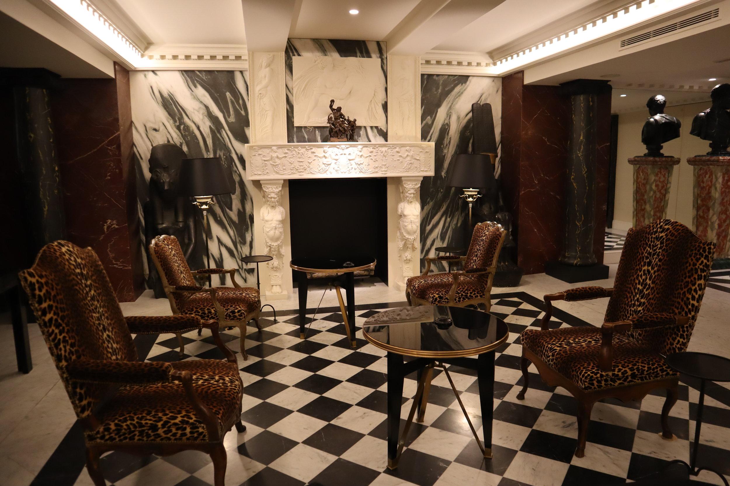Hôtel de Berri Paris – Lobby lounge