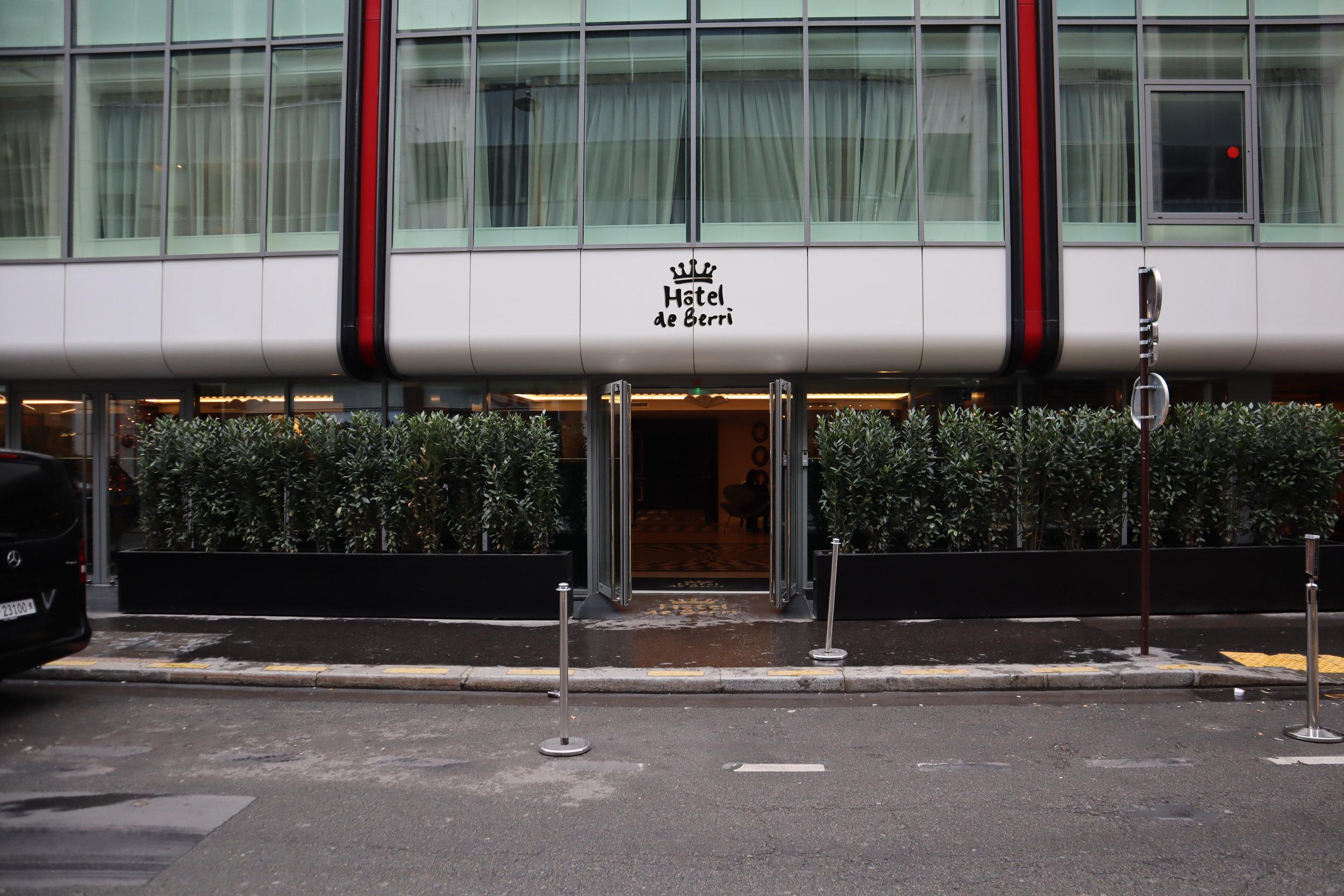 Hôtel de Berri Paris – Exterior