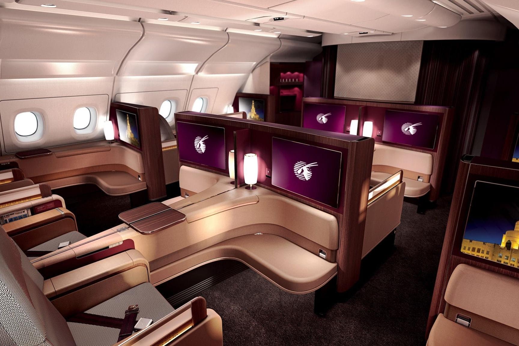Qatar Airways A380 First Class