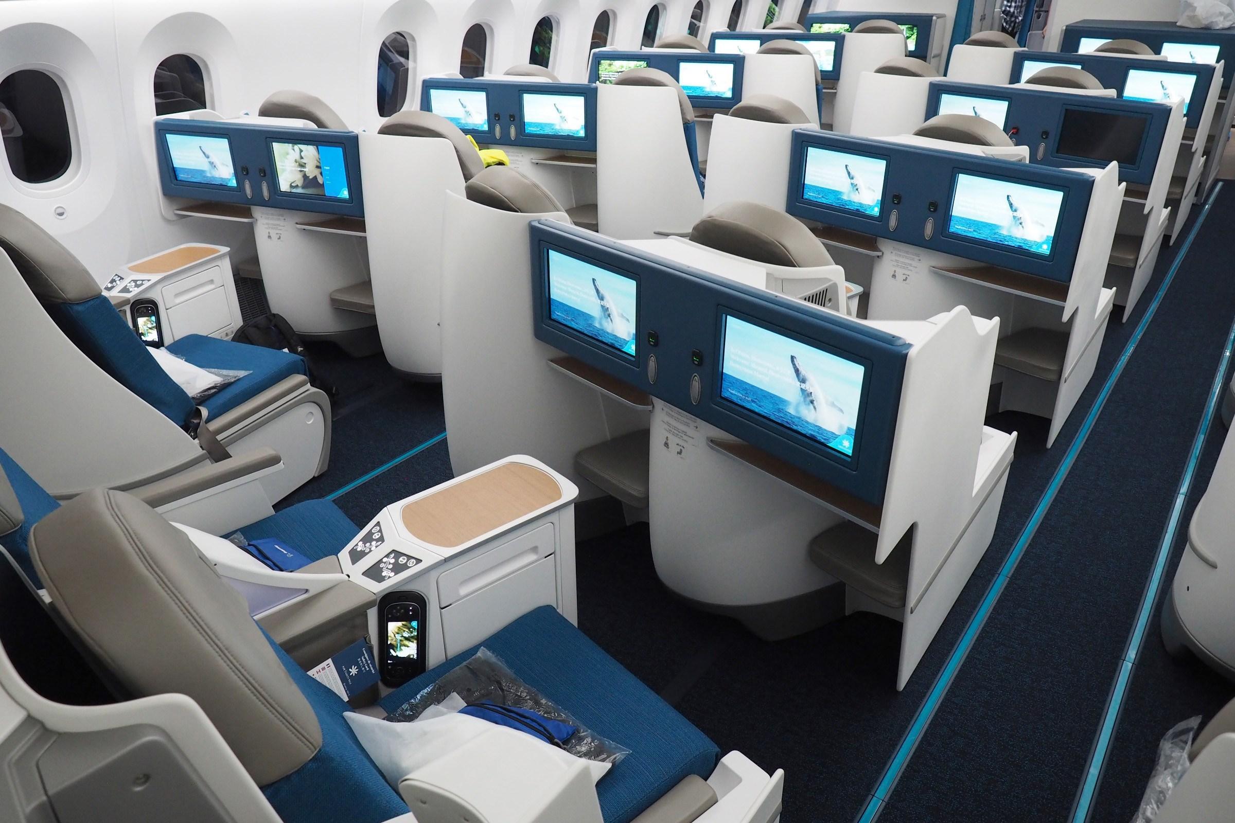 Air Tahiti Nui 787 business class