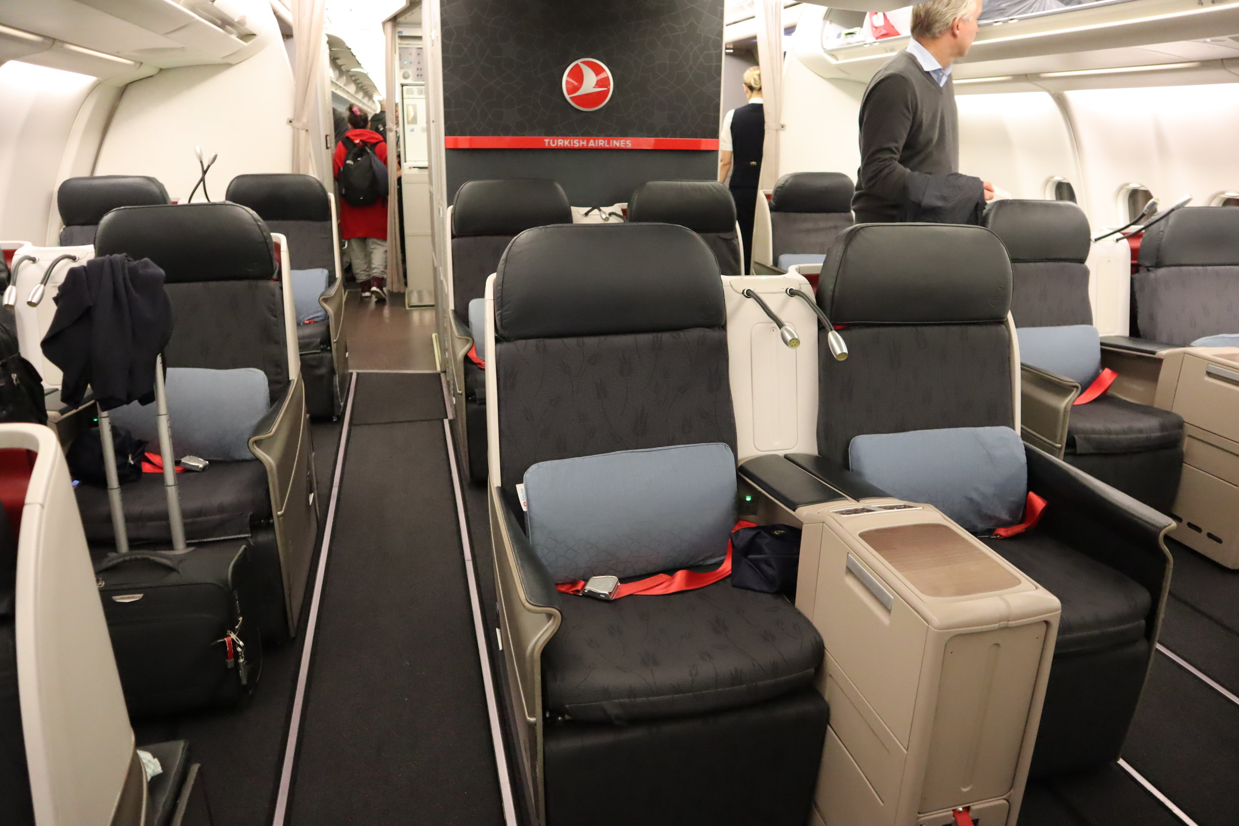 Turkish Airlines A330 business class – Cabin