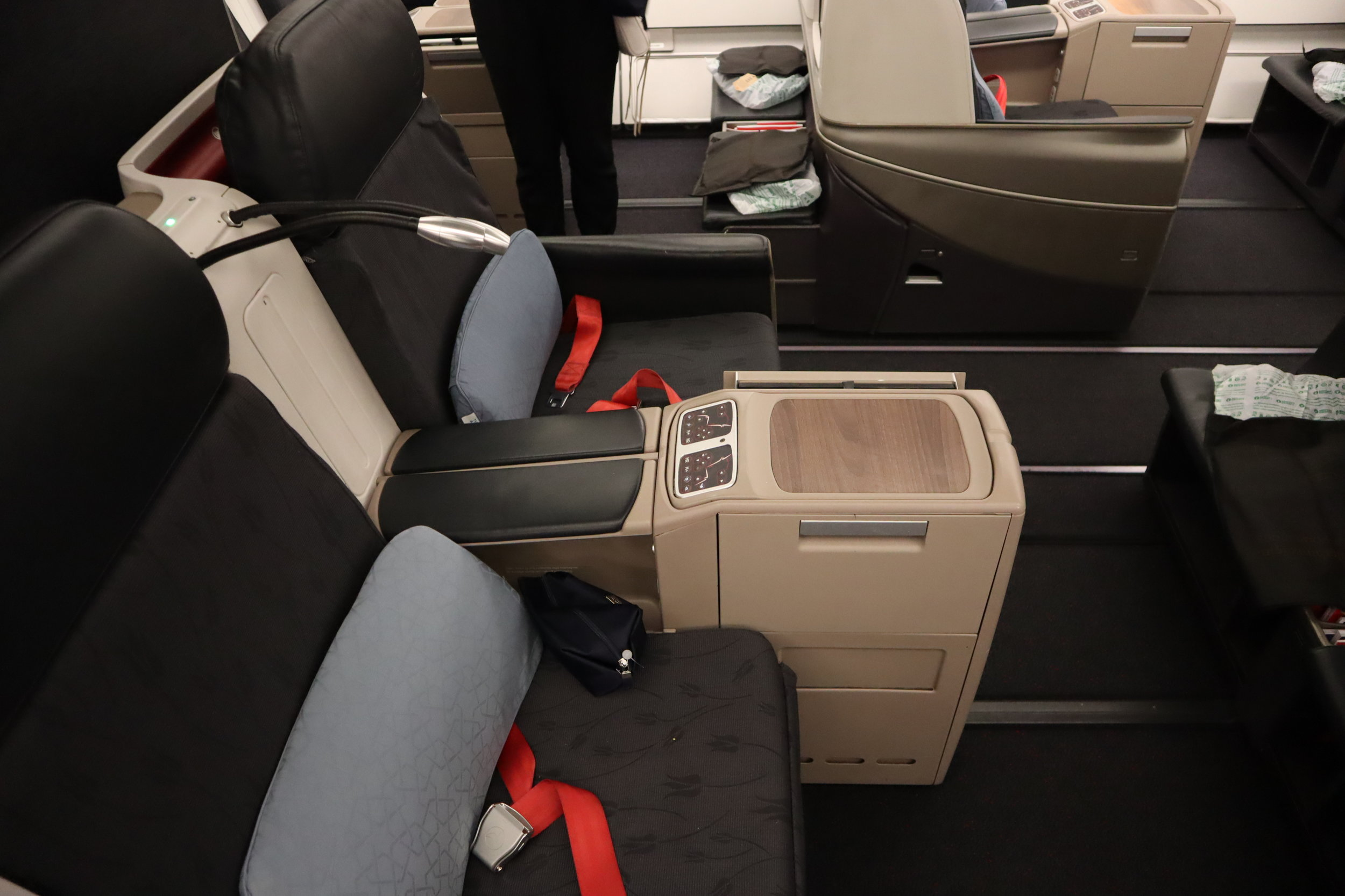 Turkish Airlines A330 business class – Seats 4D and 4E
