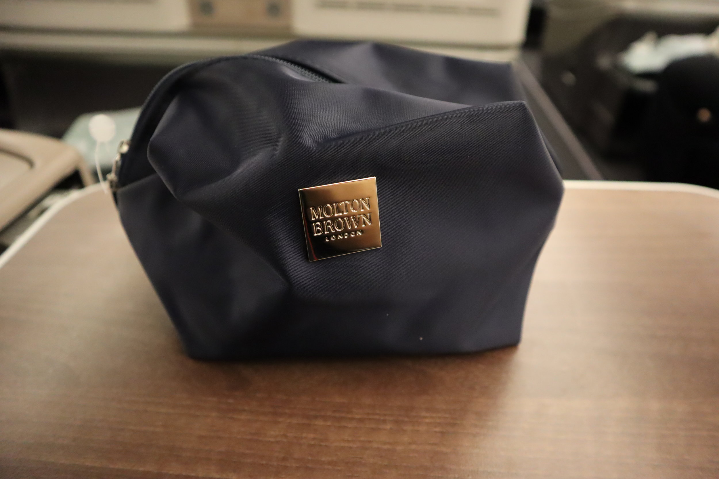 Turkish Airlines A330 business class – Amenity kit