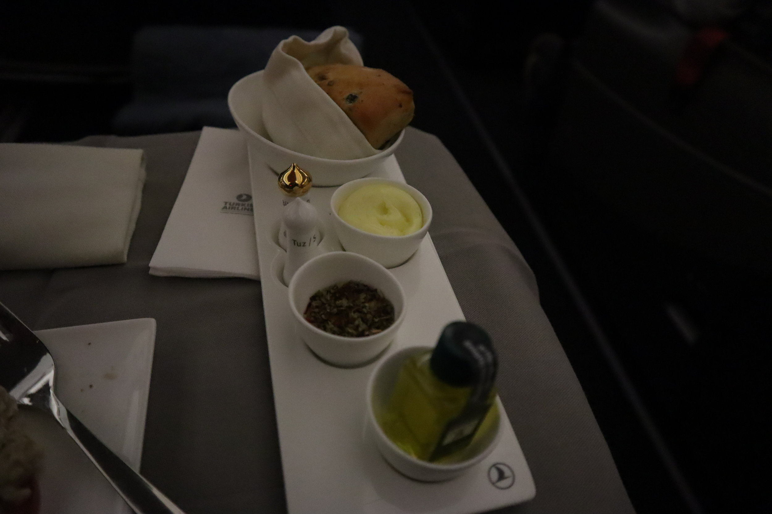 Turkish Airlines A330 business class – Bread