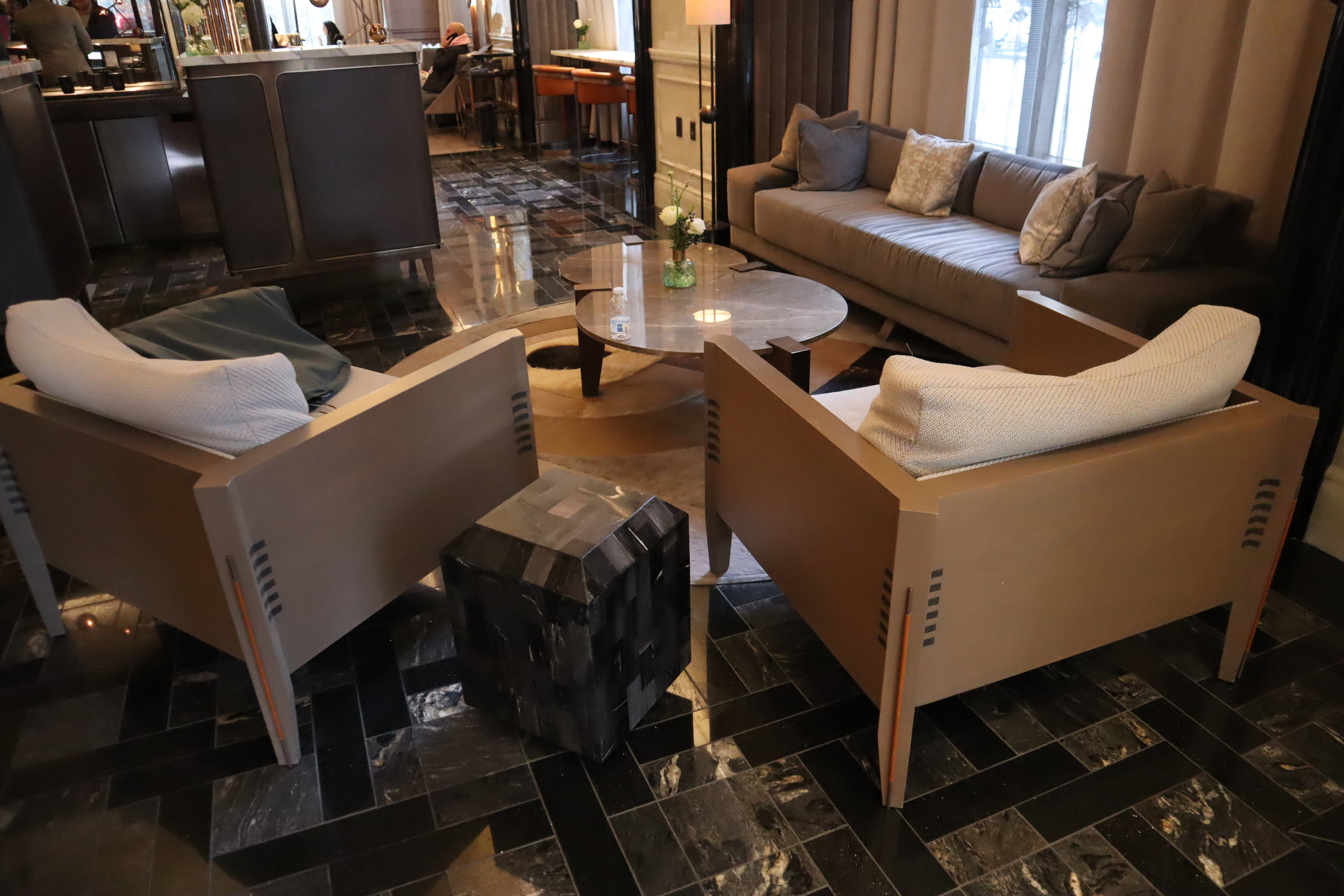 St. Regis Toronto – Lobby sitting area