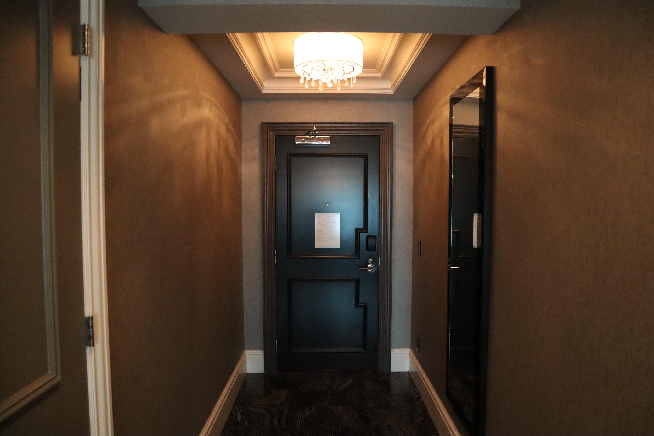 St. Regis Toronto – Two-bedroom suite entryway