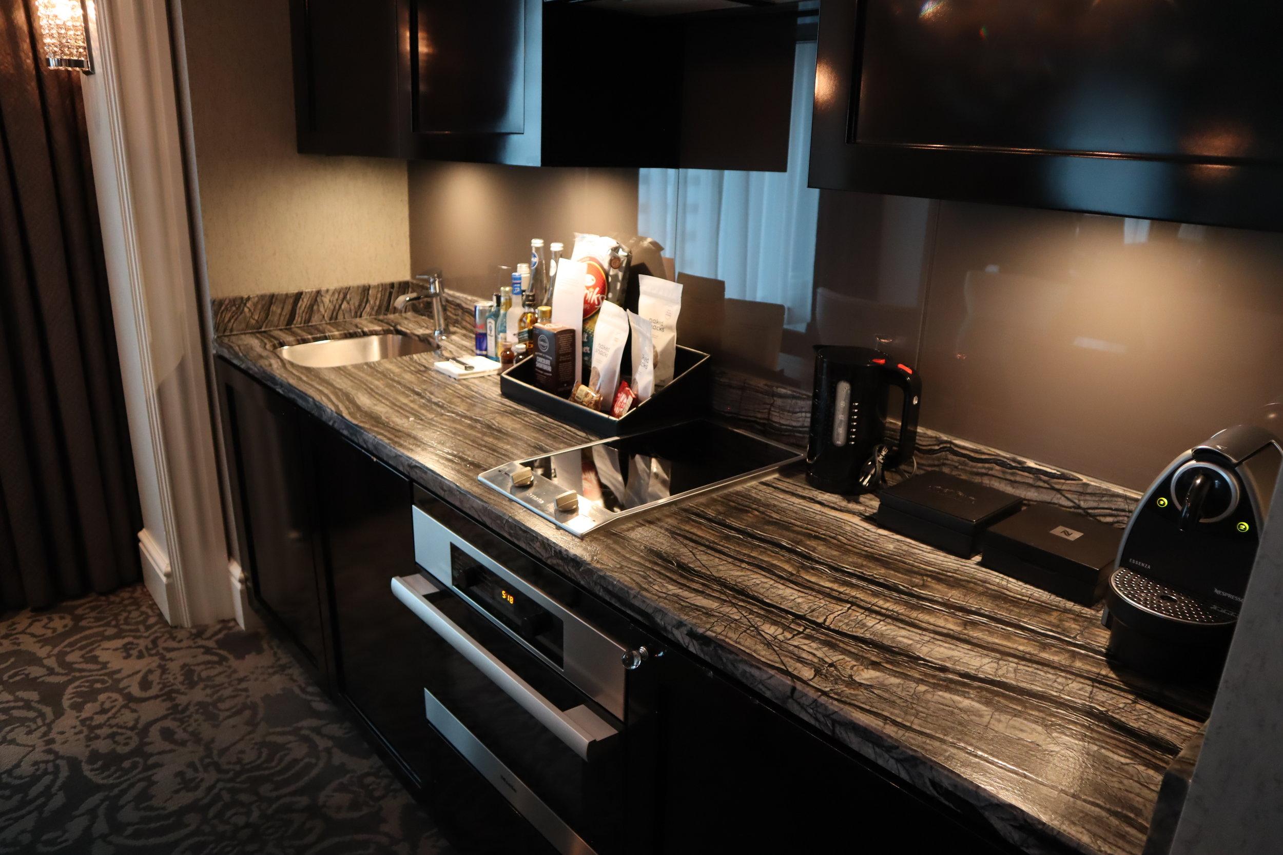 St. Regis Toronto – Two-bedroom suite kitchenette