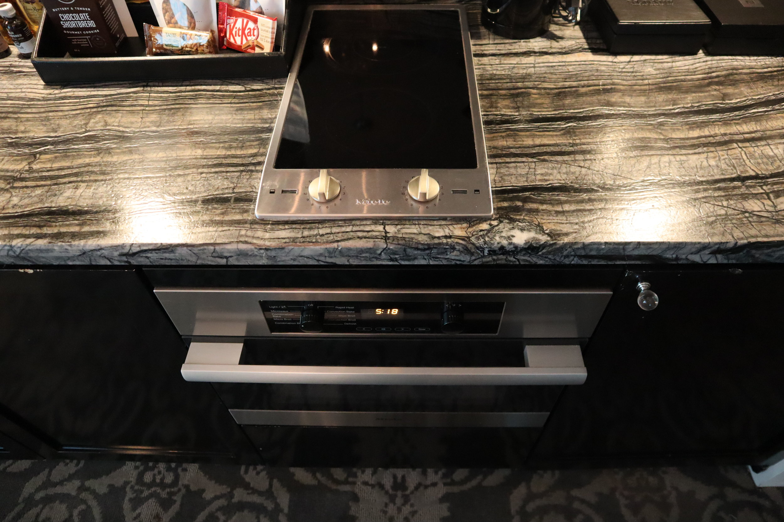 St. Regis Toronto – Two-bedroom suite oven and stove