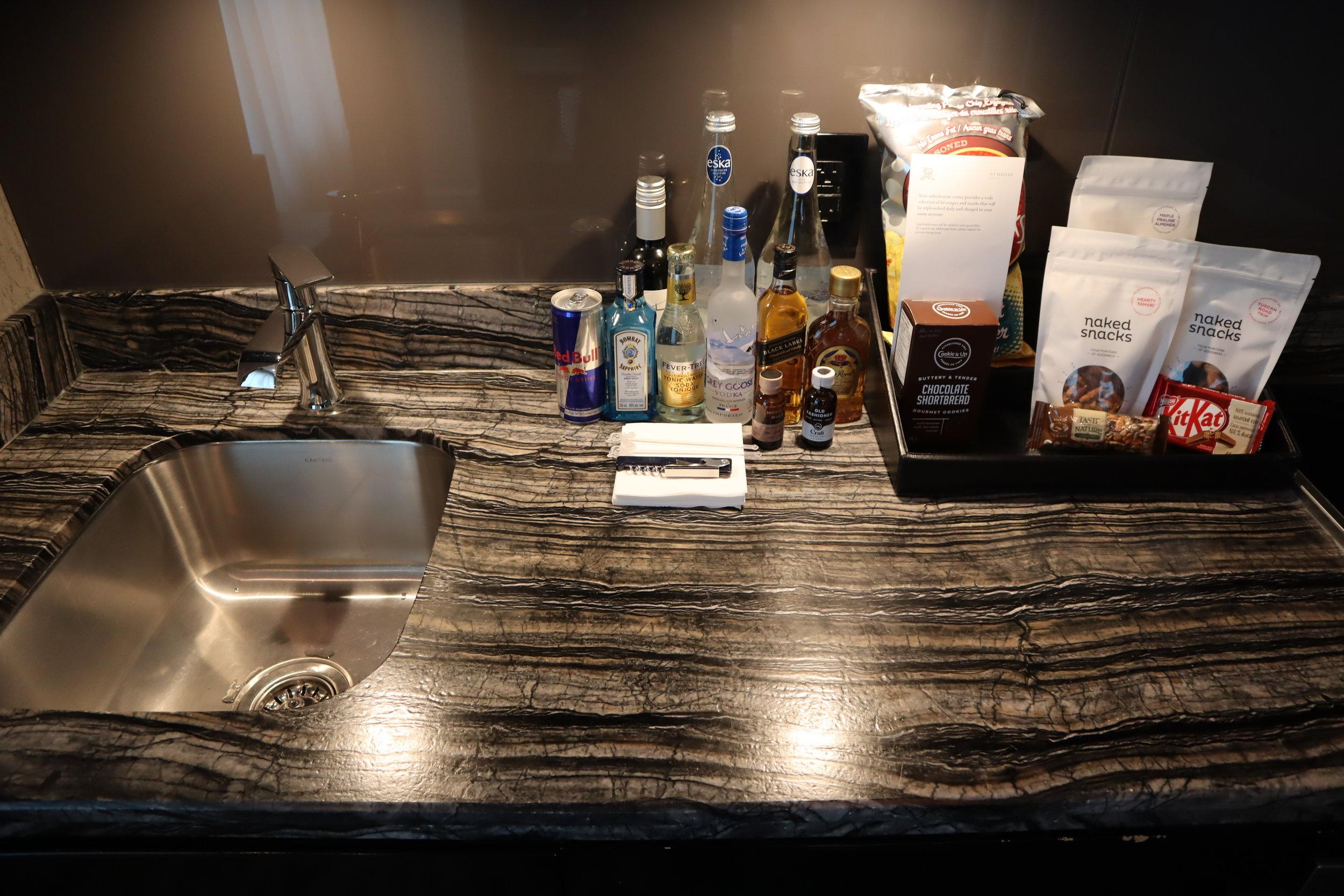 St. Regis Toronto – Two-bedroom suite sink and countertop