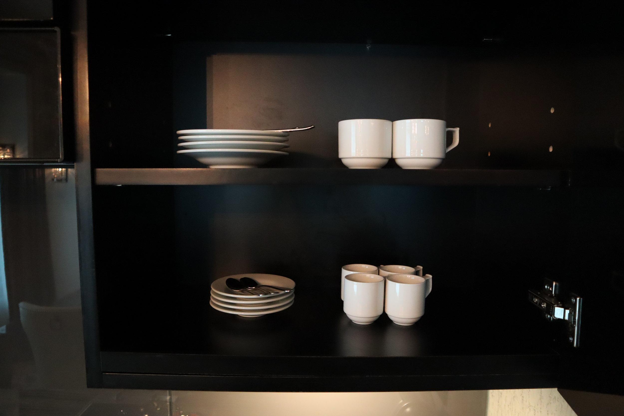 St. Regis Toronto – Two-bedroom suite tableware