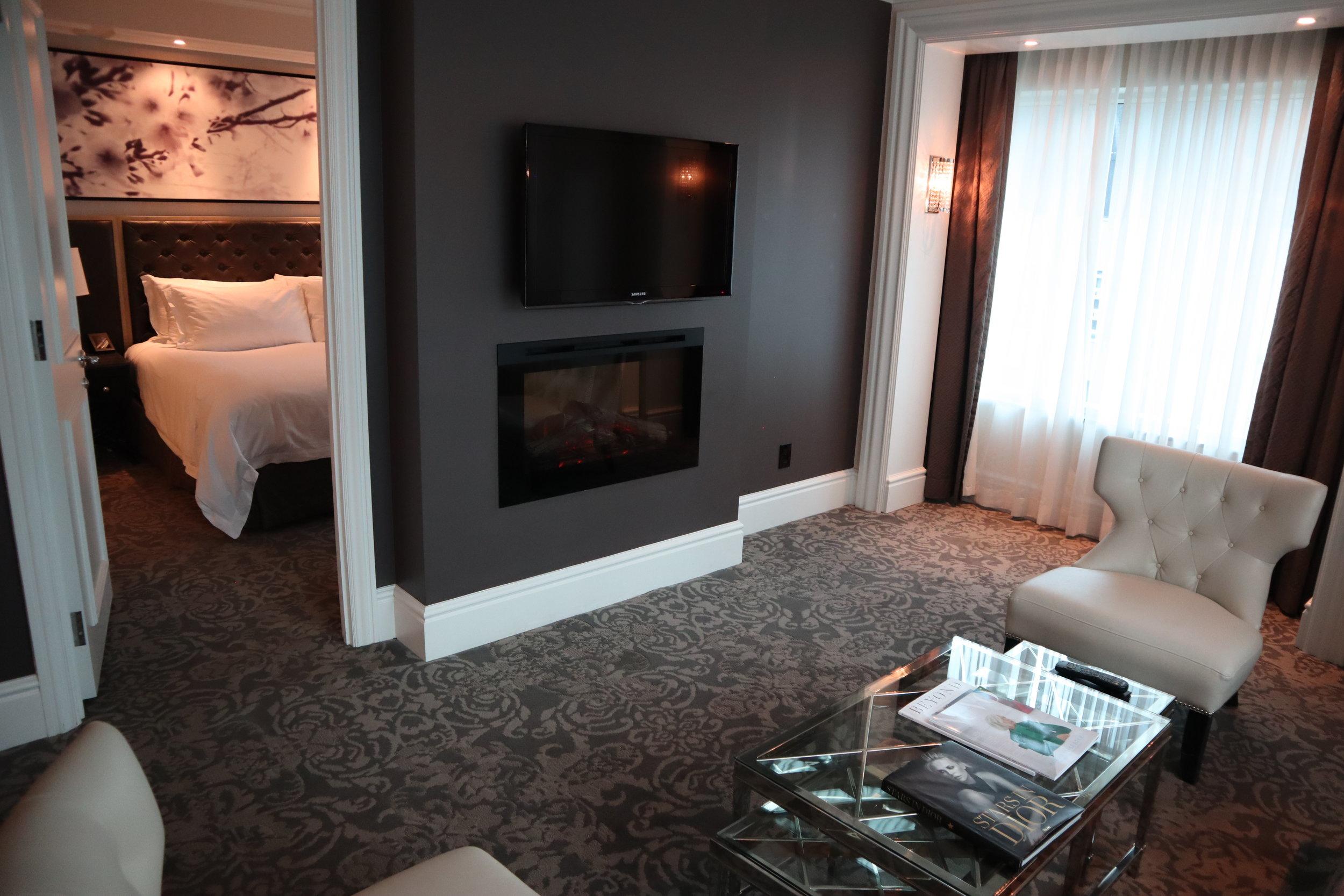 St. Regis Toronto – Two-bedroom suite living room