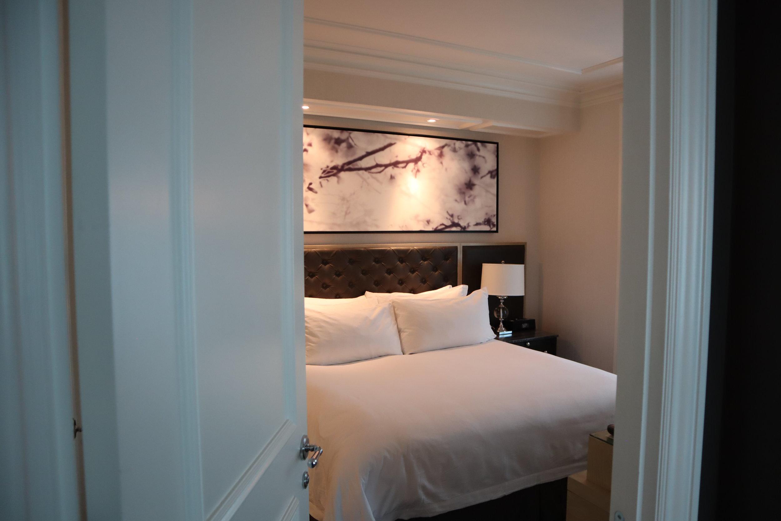 St. Regis Toronto – Two-bedroom suite guest bedroom