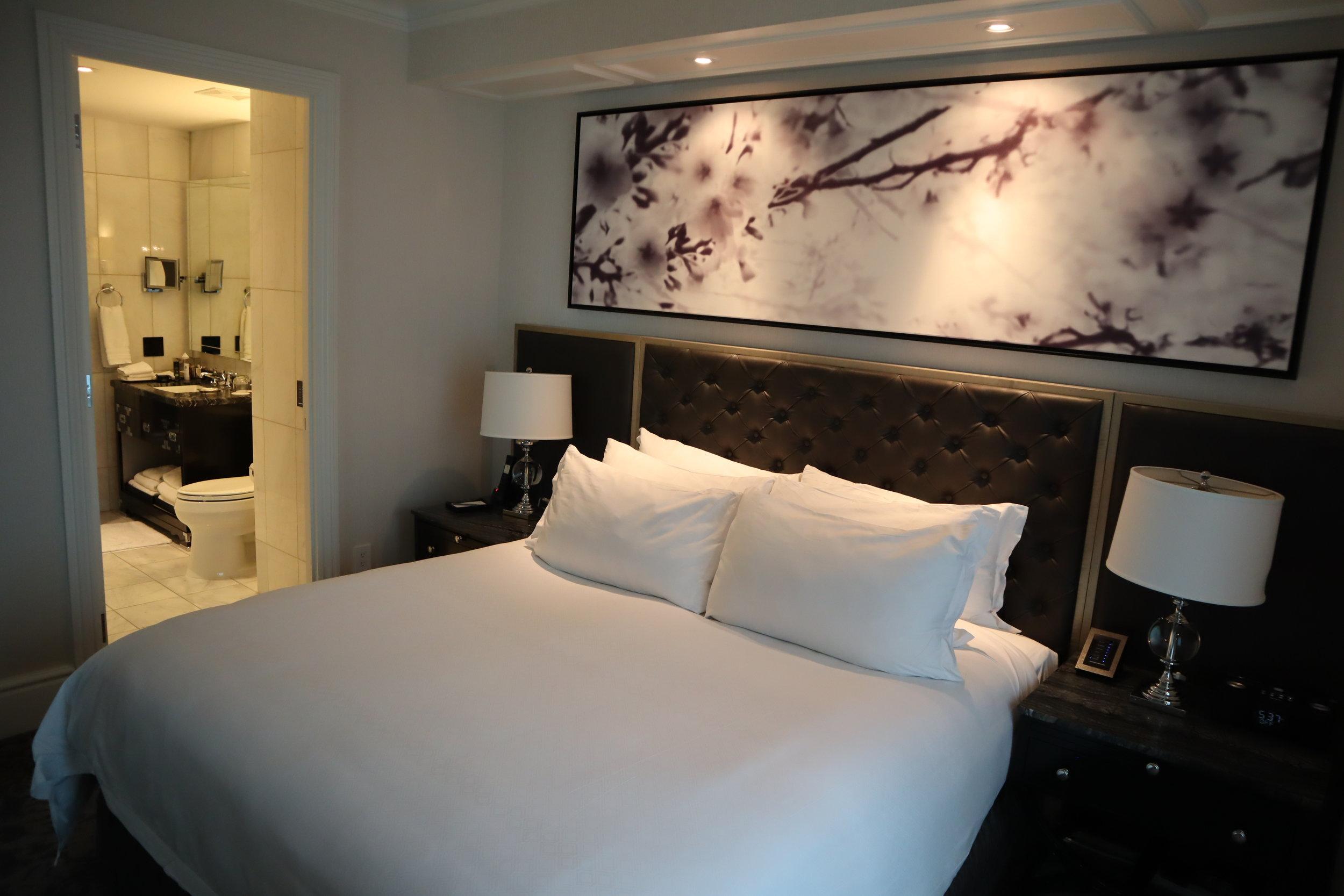 St. Regis Toronto – Two-bedroom suite guest bedroom king bed